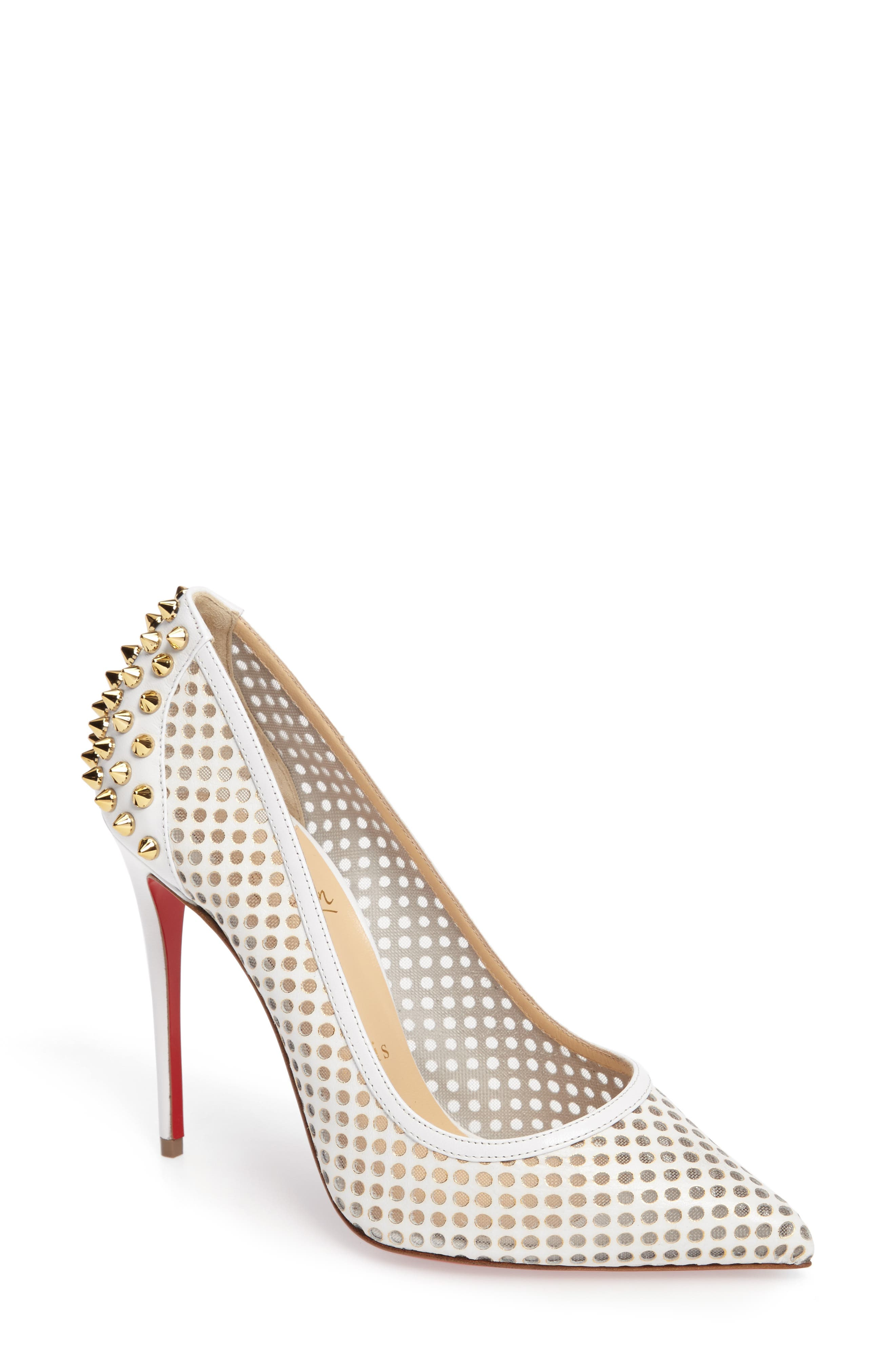 CHRISTIAN LOUBOUTIN 'Guni' Pointy Toe Pump