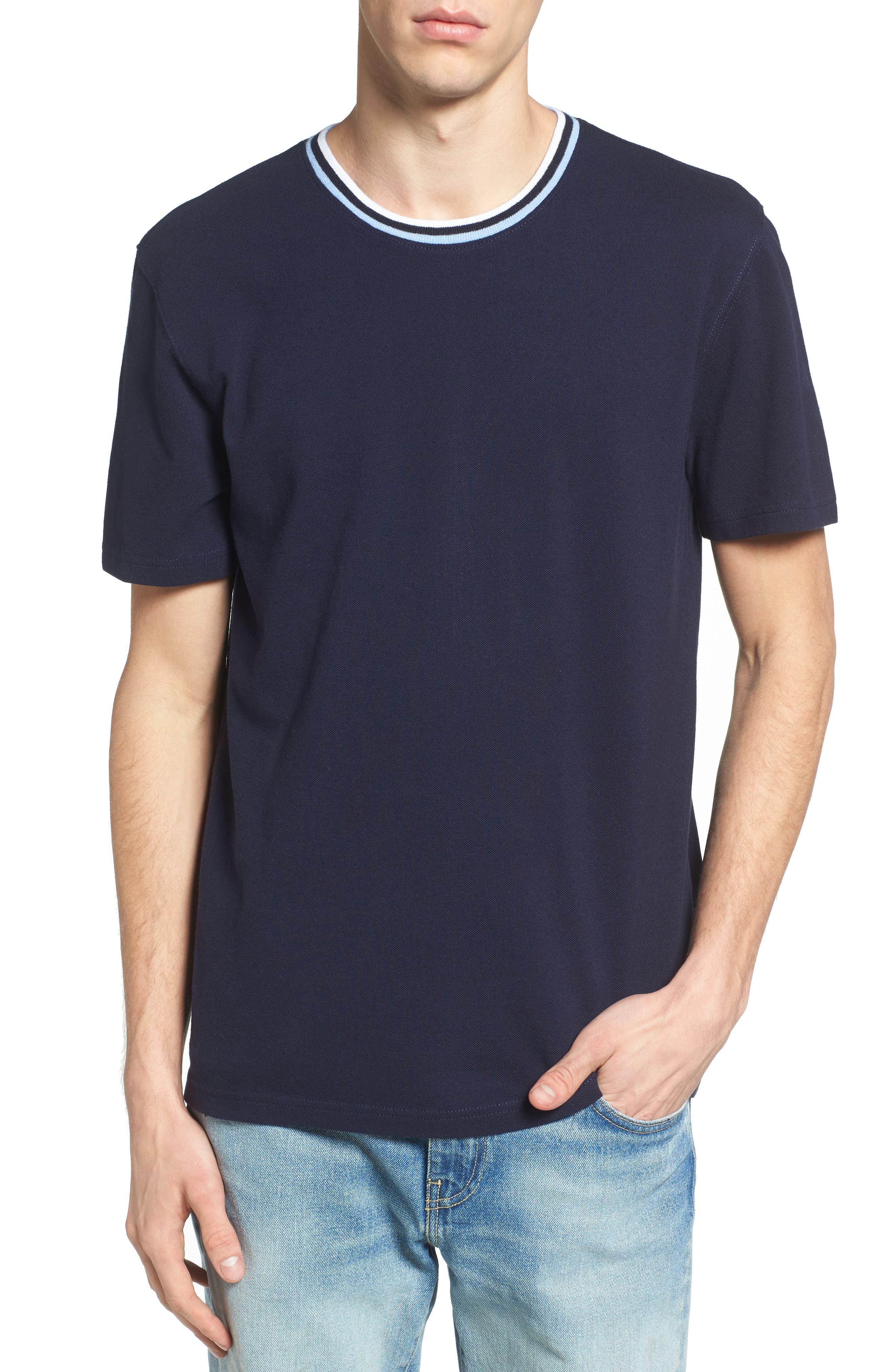 1901 Stripe Slim Piqué T-Shirt