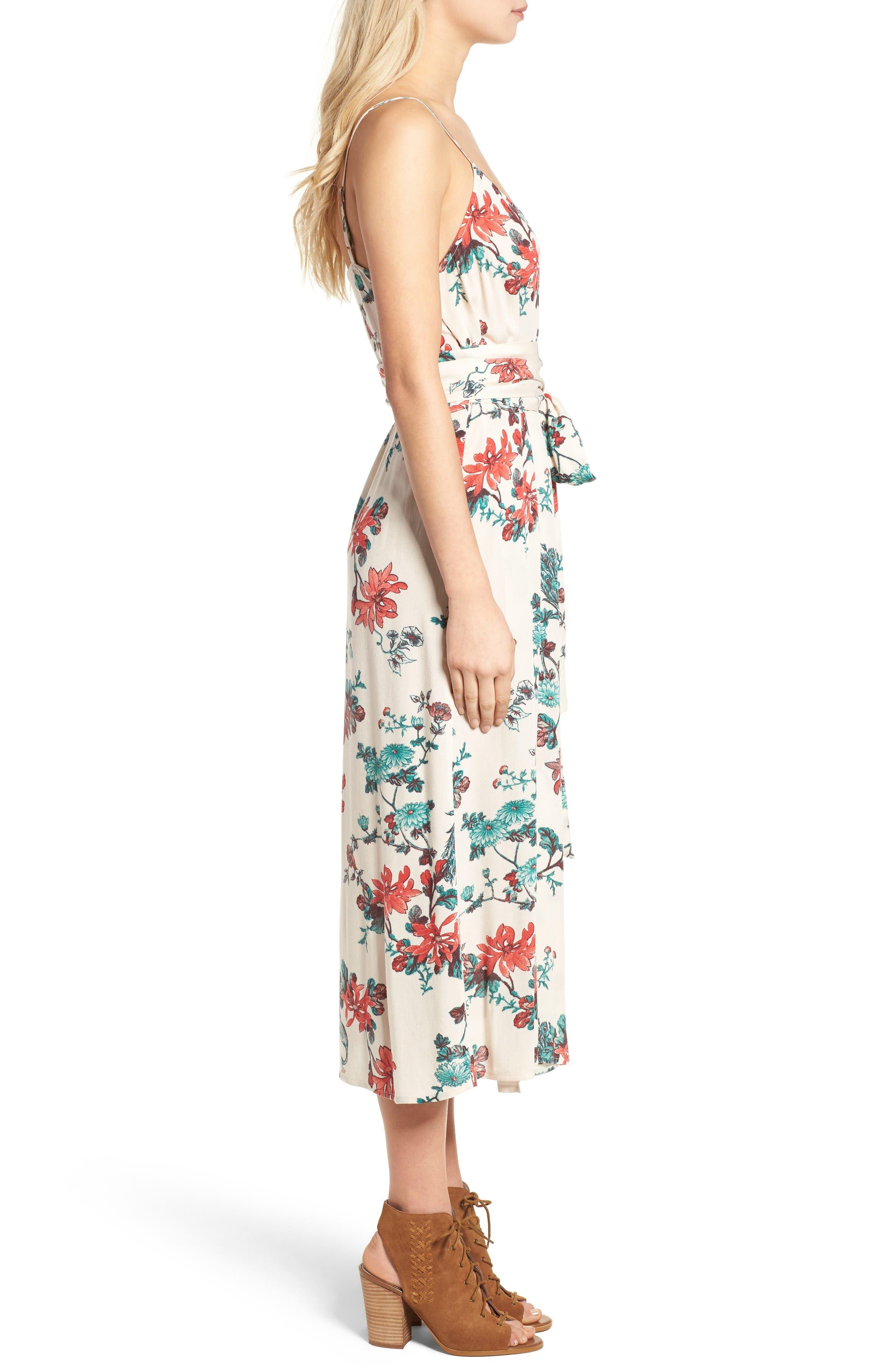 Alternate Image 4  - Hinge Midi Wrap Dress