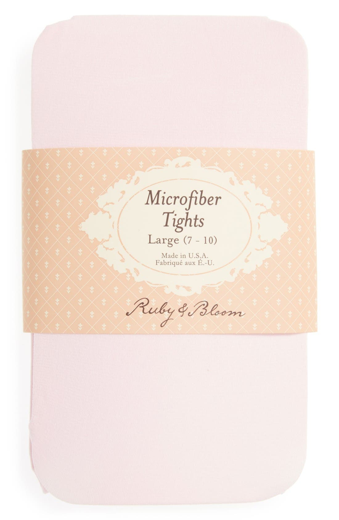 Alternate Image 2  - Ruby & Bloom 'So Fine' Microfiber Tights (Toddler Girls, Little Girls & Big Girls) (2 for $15)