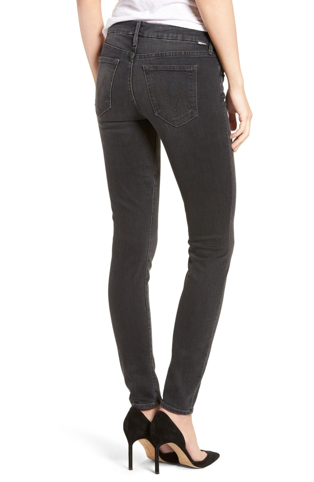 Alternate Image 2  - MOTHER The Looker Skinny Jeans (Slightly Shady)
