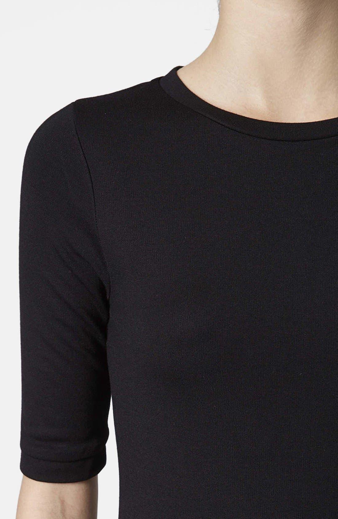 Alternate Image 4  - Topshop Body-Con Midi Dress