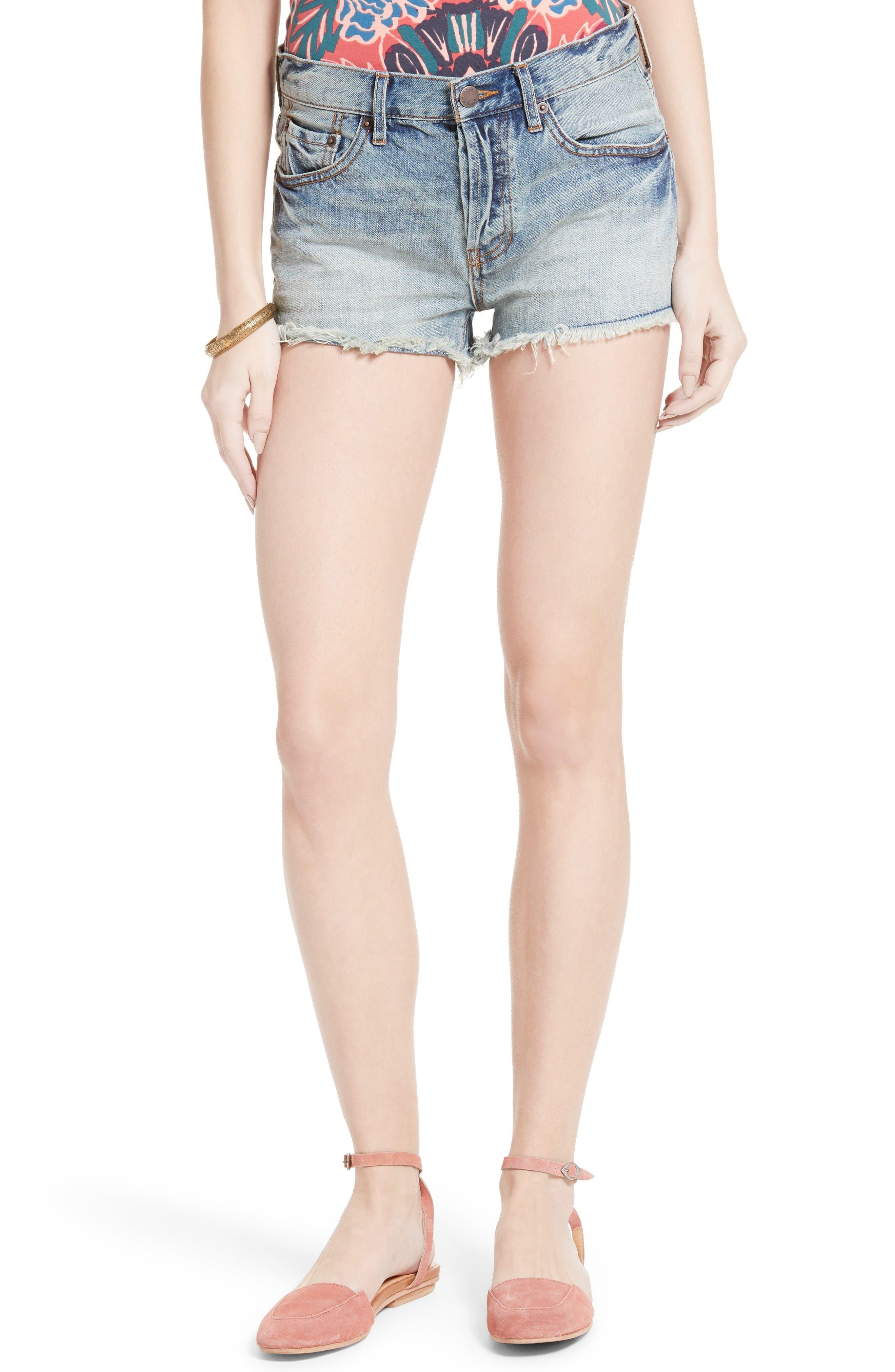 Free People Stilt Denim Cutoff Shorts
