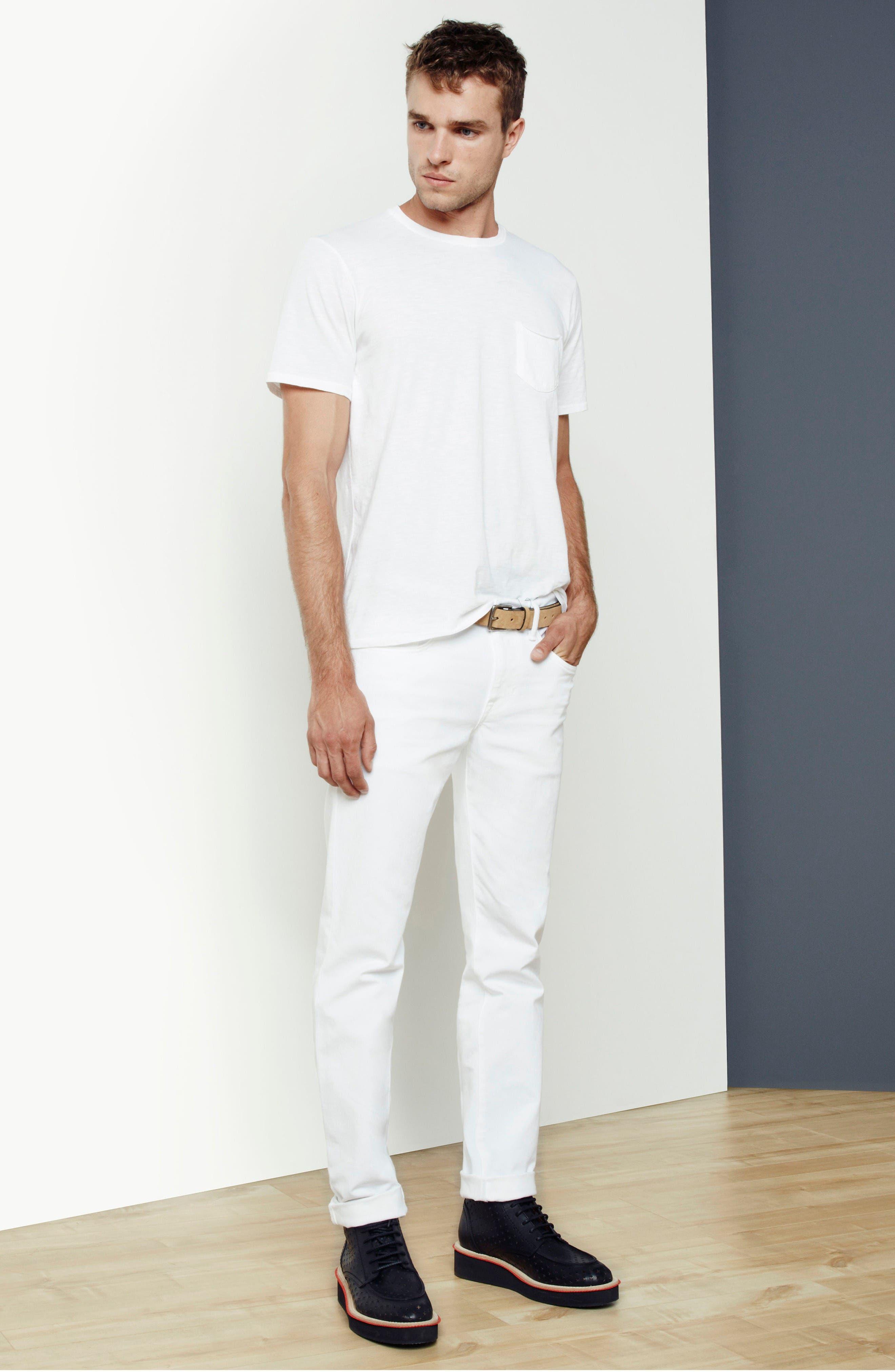 Alternate Image 6  - Joe's Brixton Slim Straight Leg Jeans (Ronan)