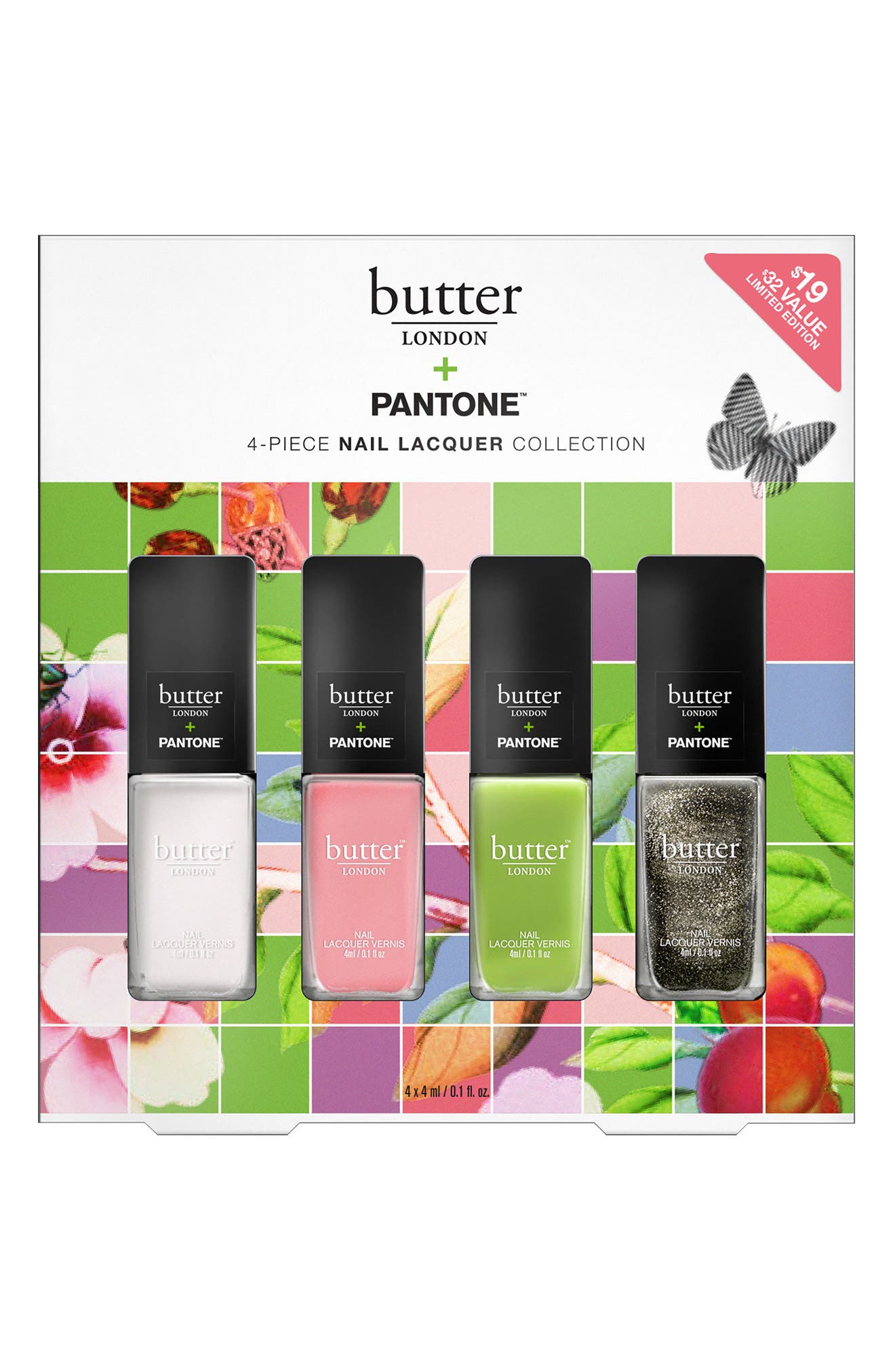 BUTTER LONDON Pantone Nail Lacquer Set