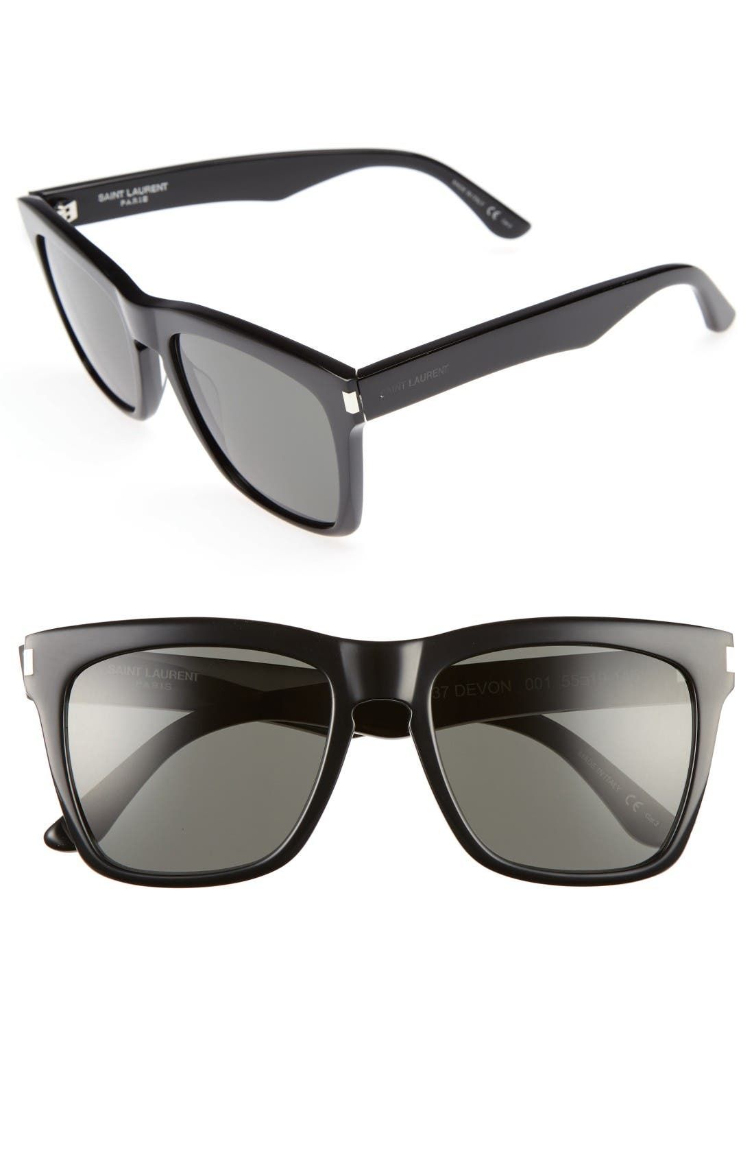 Saint Laurent Devon 55mm Sunglasses