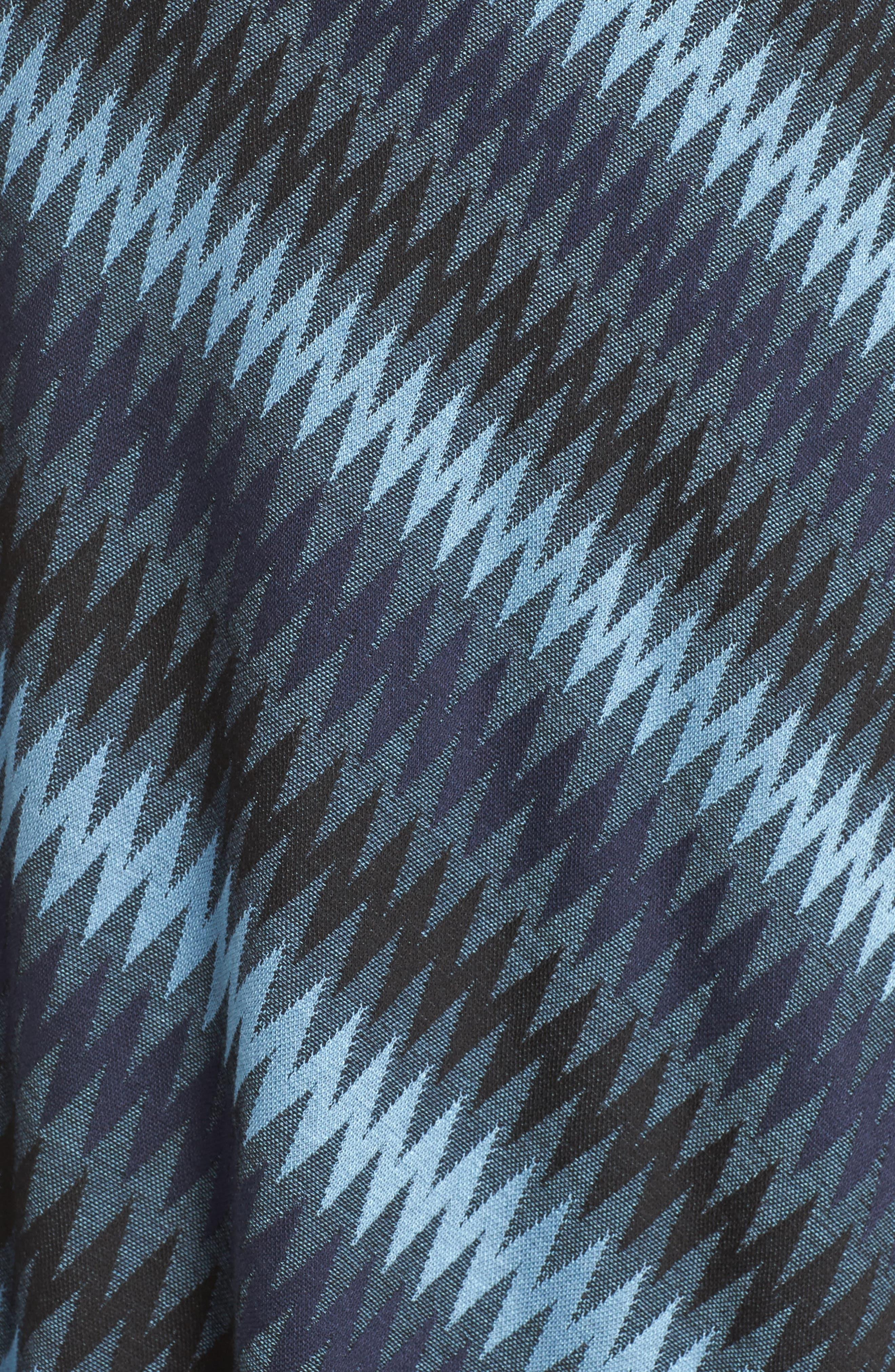 Alternate Image 5  - BCBGMAXAZRIA Asymmetrical Knit Dress