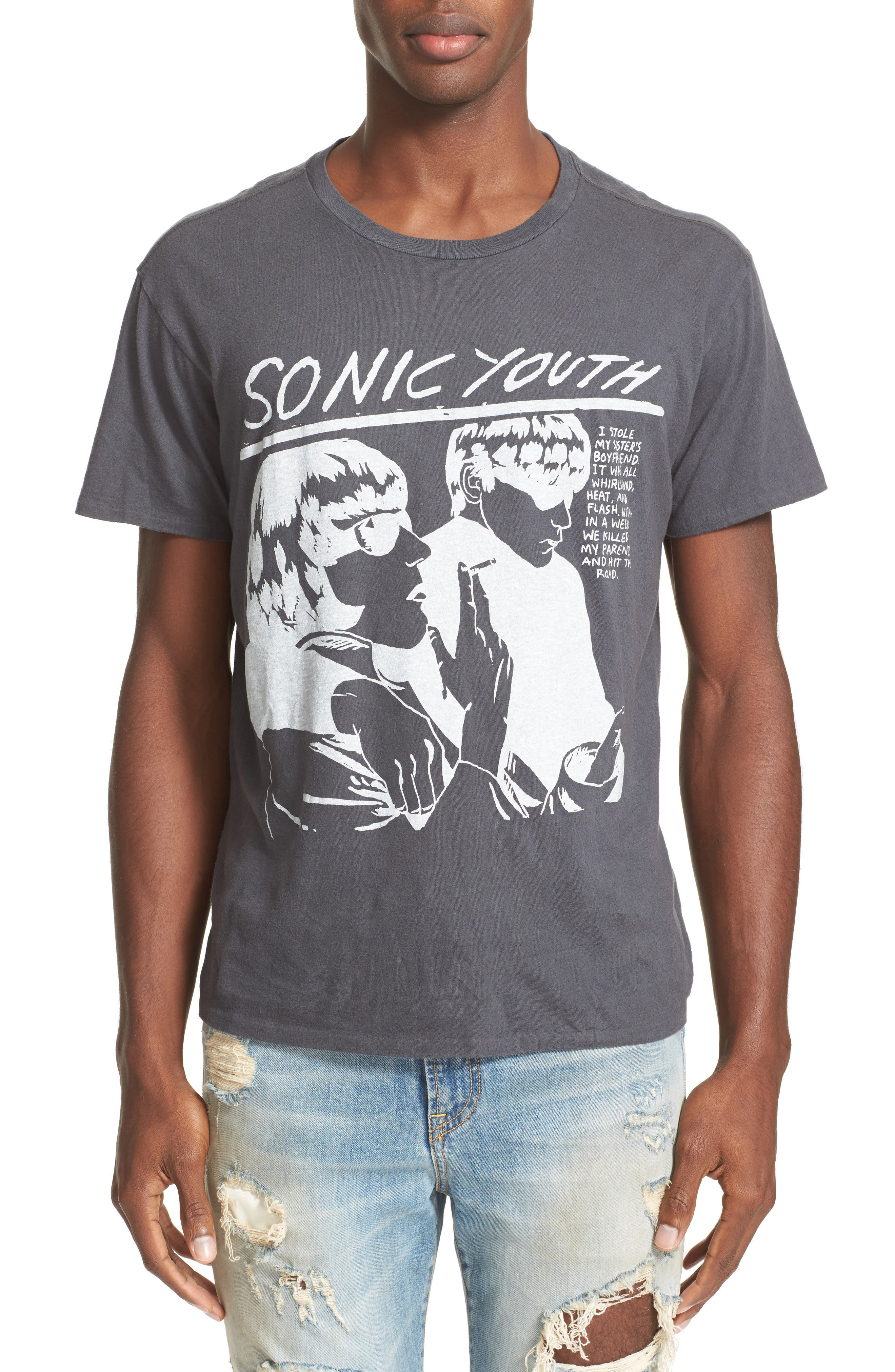 R13 Sonic Youth Graphic T-Shirt