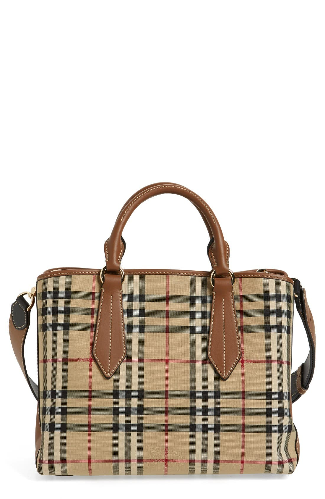 BURBERRY Ballingdon Horseferry Check Nylon Tote