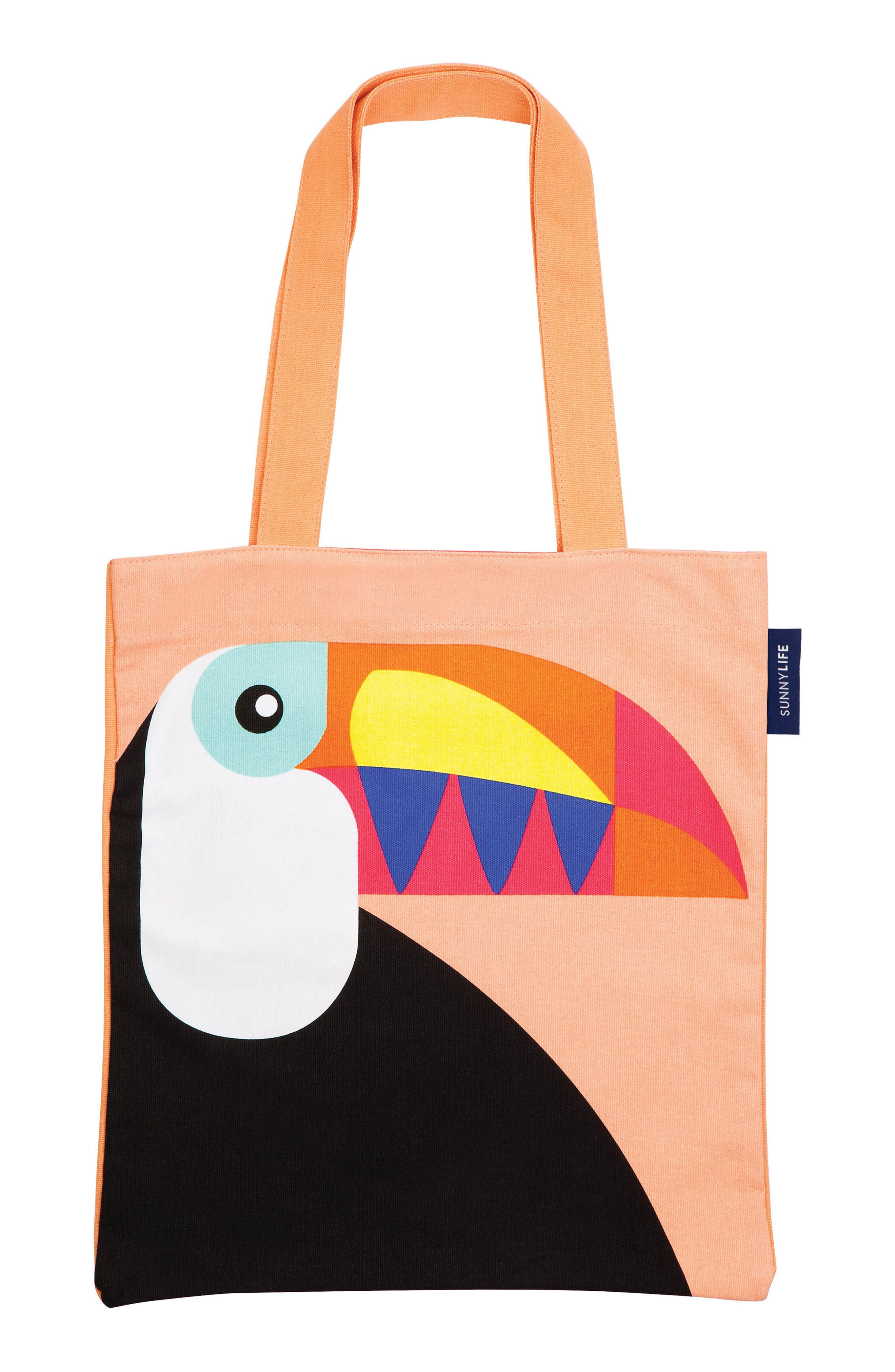 Sunnylife Print Canvas Tote