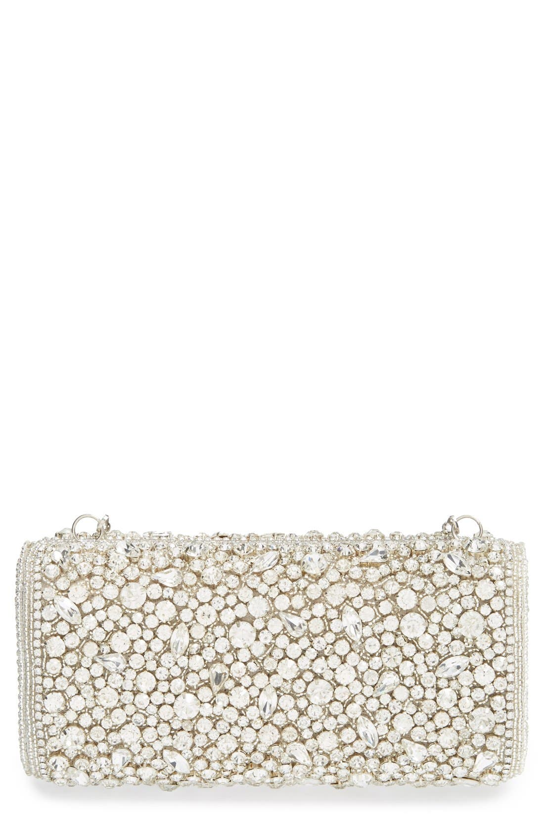 Alternate Image 1 Selected - Natasha Couture Beaded & Crystal Clutch