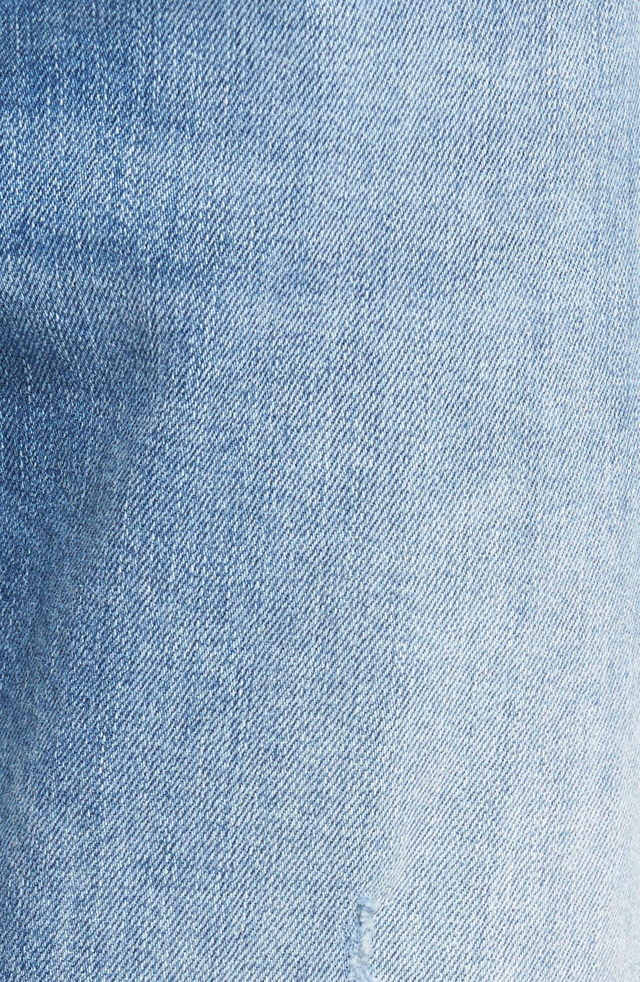 Alternate Image 5  - Mavi Jeans Jake Easy Slim Fit Jeans (Ripped)