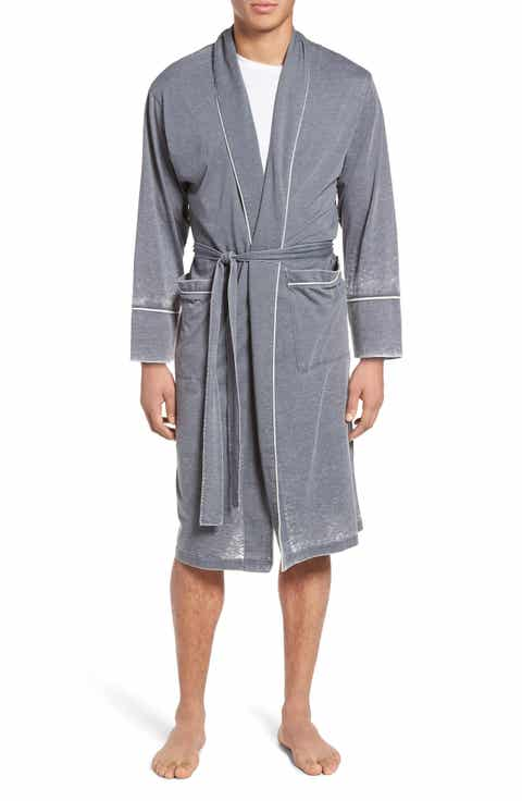 Daniel Buchler Burnout Cotton Blend Robe