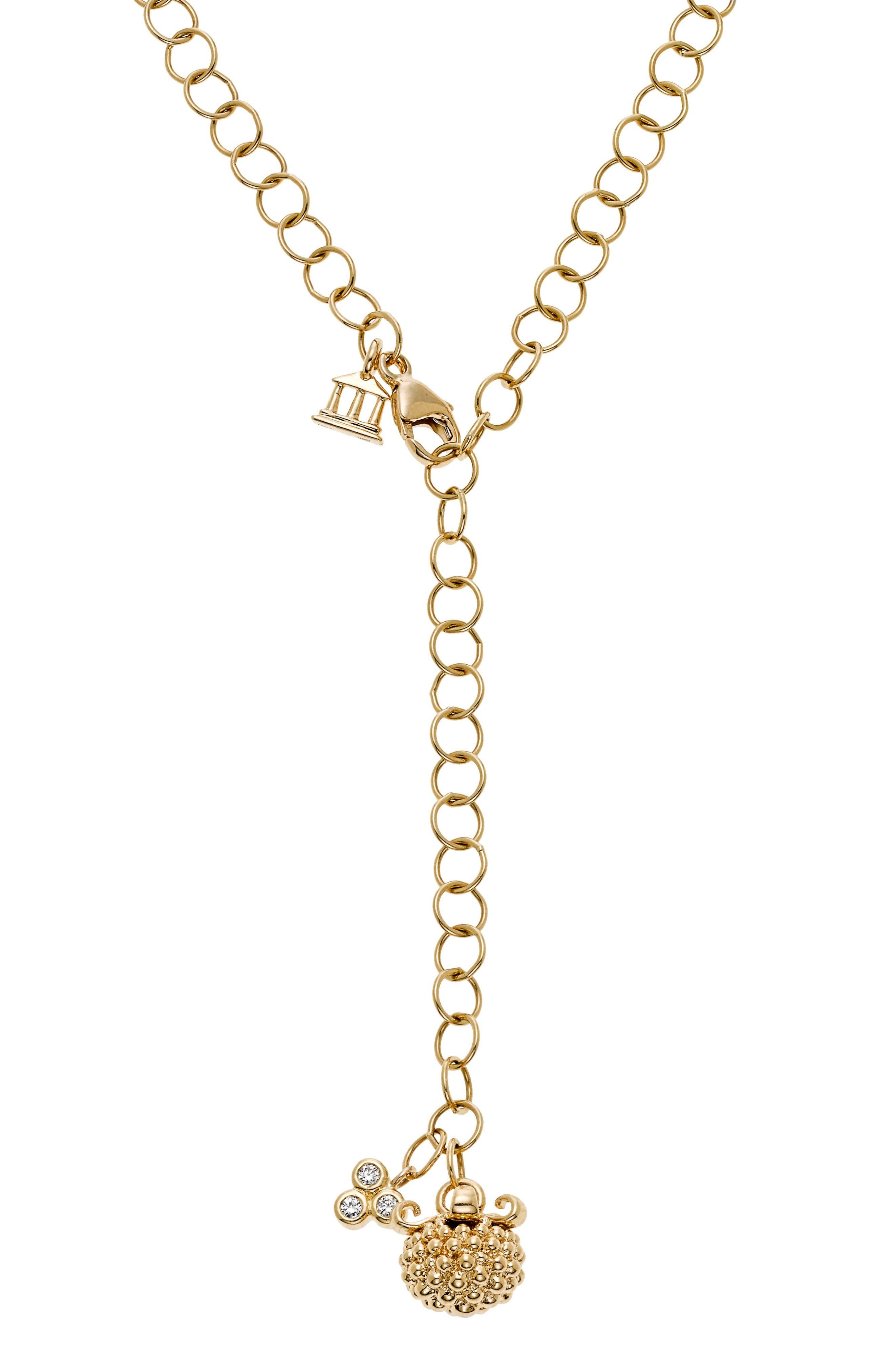 Temple St. Clair Diamond Pendant Necklace