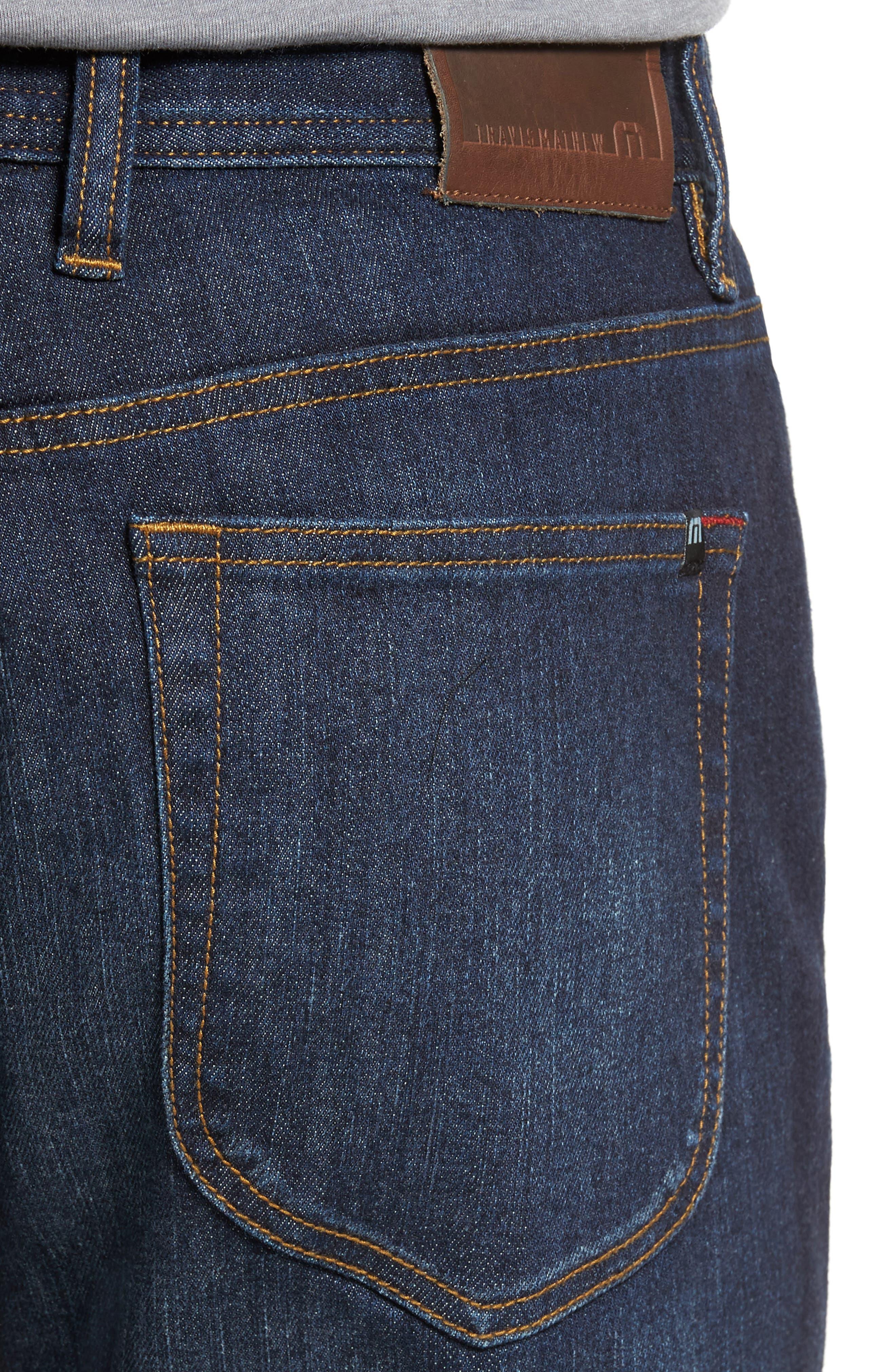 Alternate Image 4  - Travis Mathew 'Duke' Relaxed Fit Jeans (Vintage Indigo)