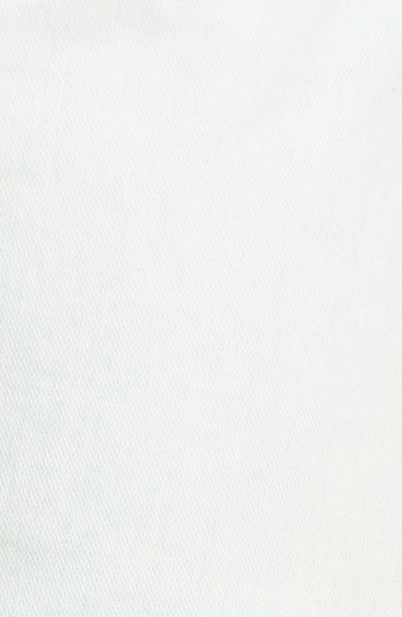 Alternate Image 5  - True Religion Brand Jeans Rocco Skinny Fit Moto Jeans (Light Daze)
