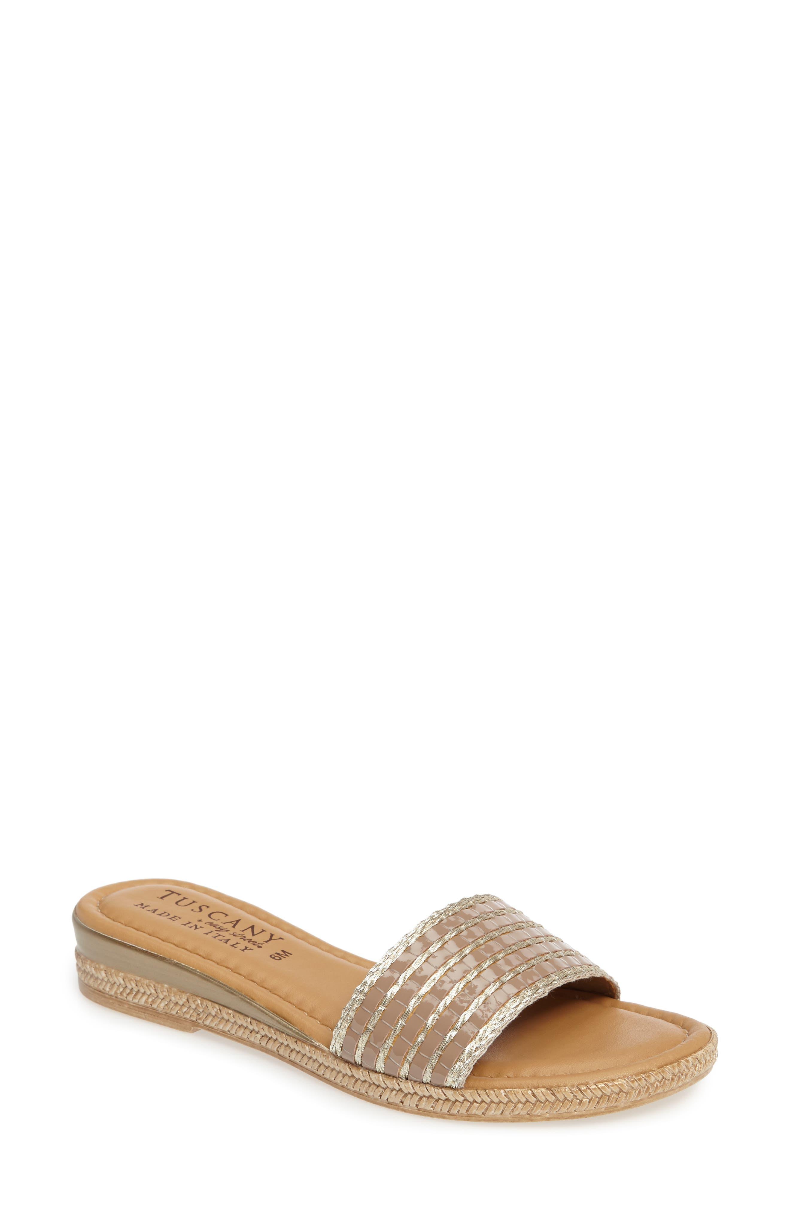 TUSCANY by Easy Street® Vanna Slide Sandal (Women)