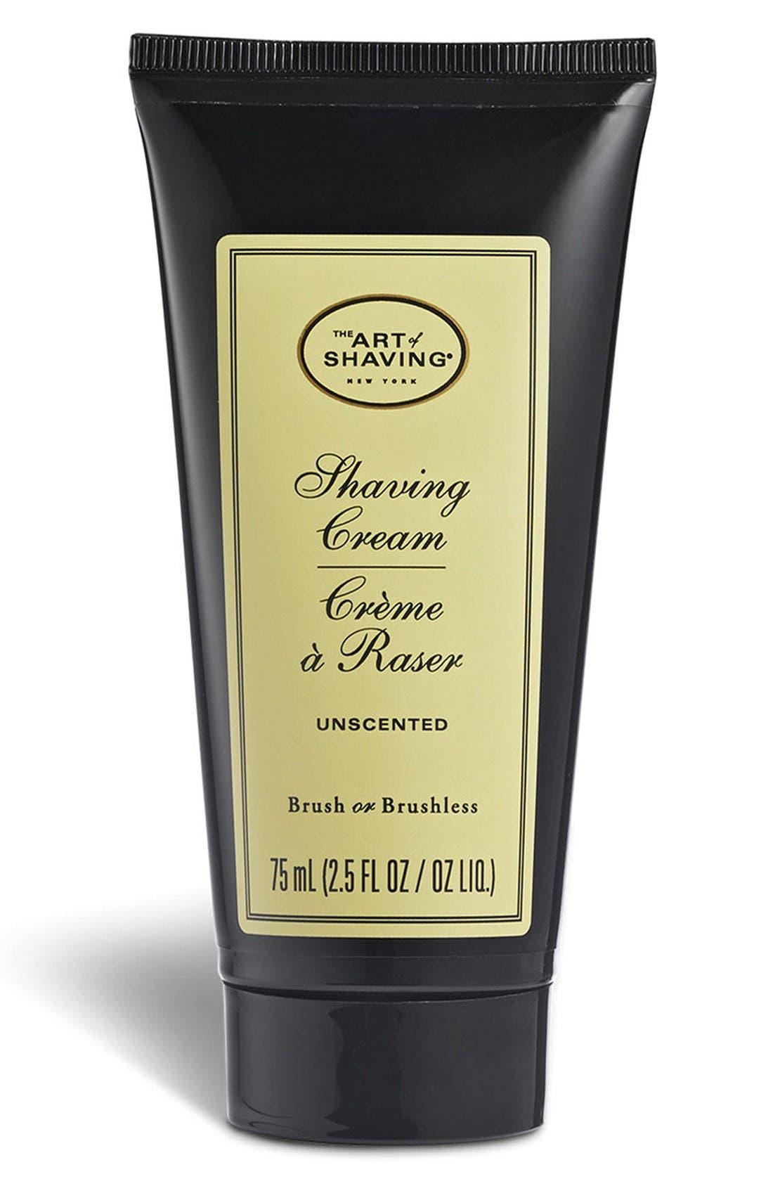 Main Image - The Art of Shaving® Unscented Shaving Cream Tube