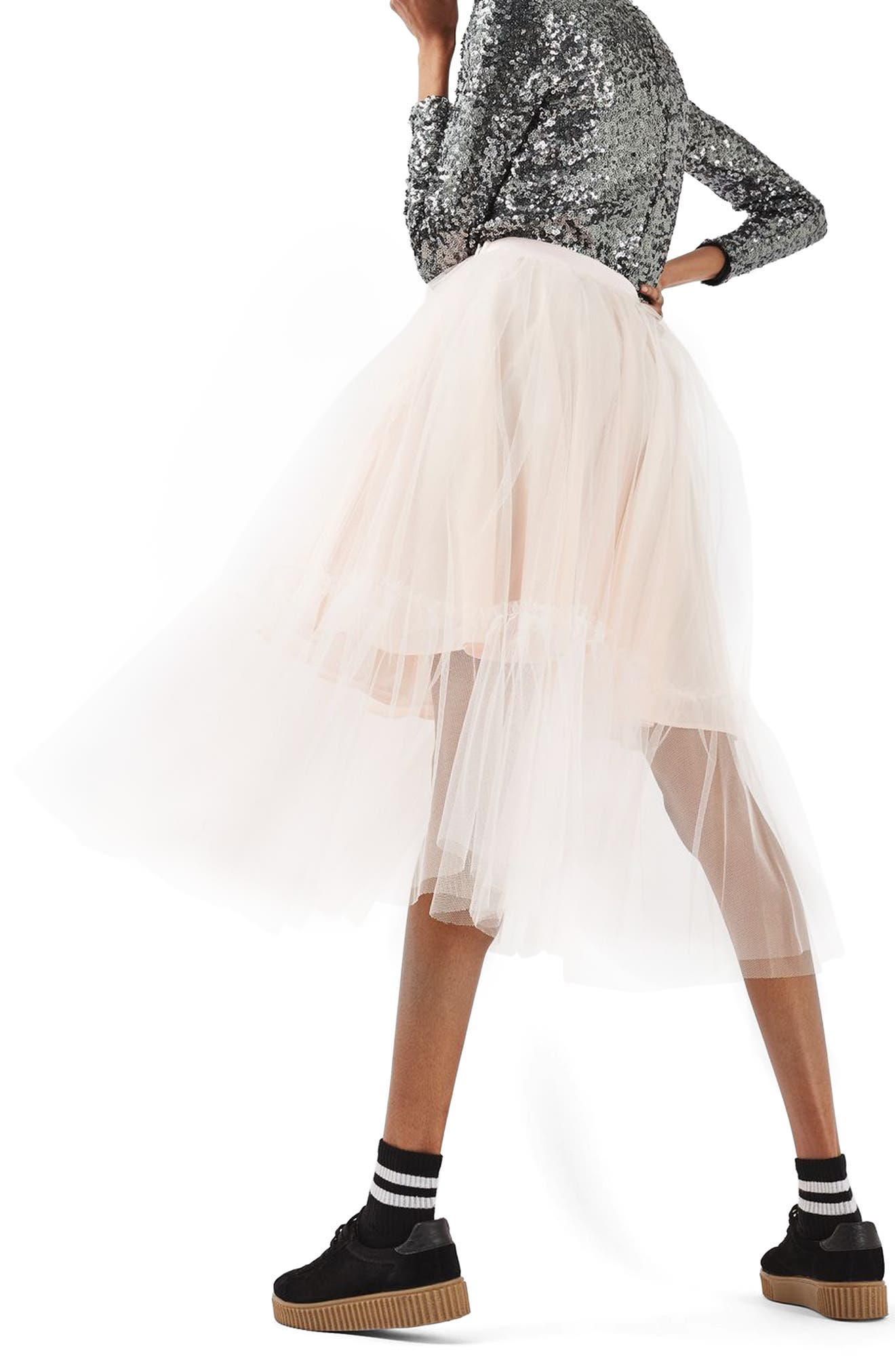 Alternate Image 3  - Topshop Tutu Tulle Skirt