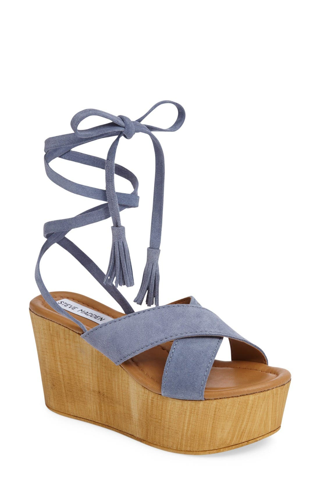 Alternate Image 1 Selected - Steve Madden Shella Platform Sandal (Women)