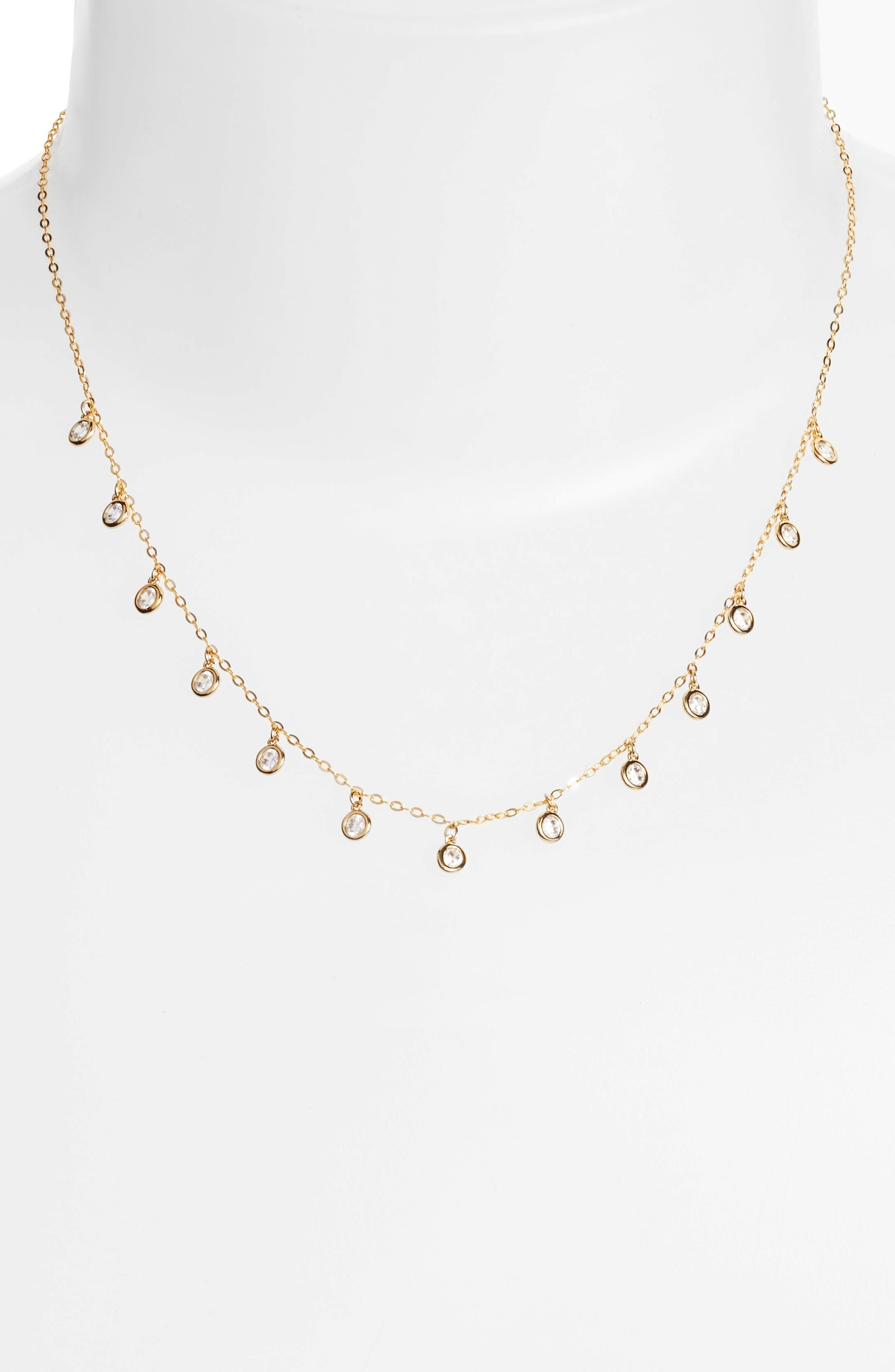Nadri Shaker Crystal Necklace