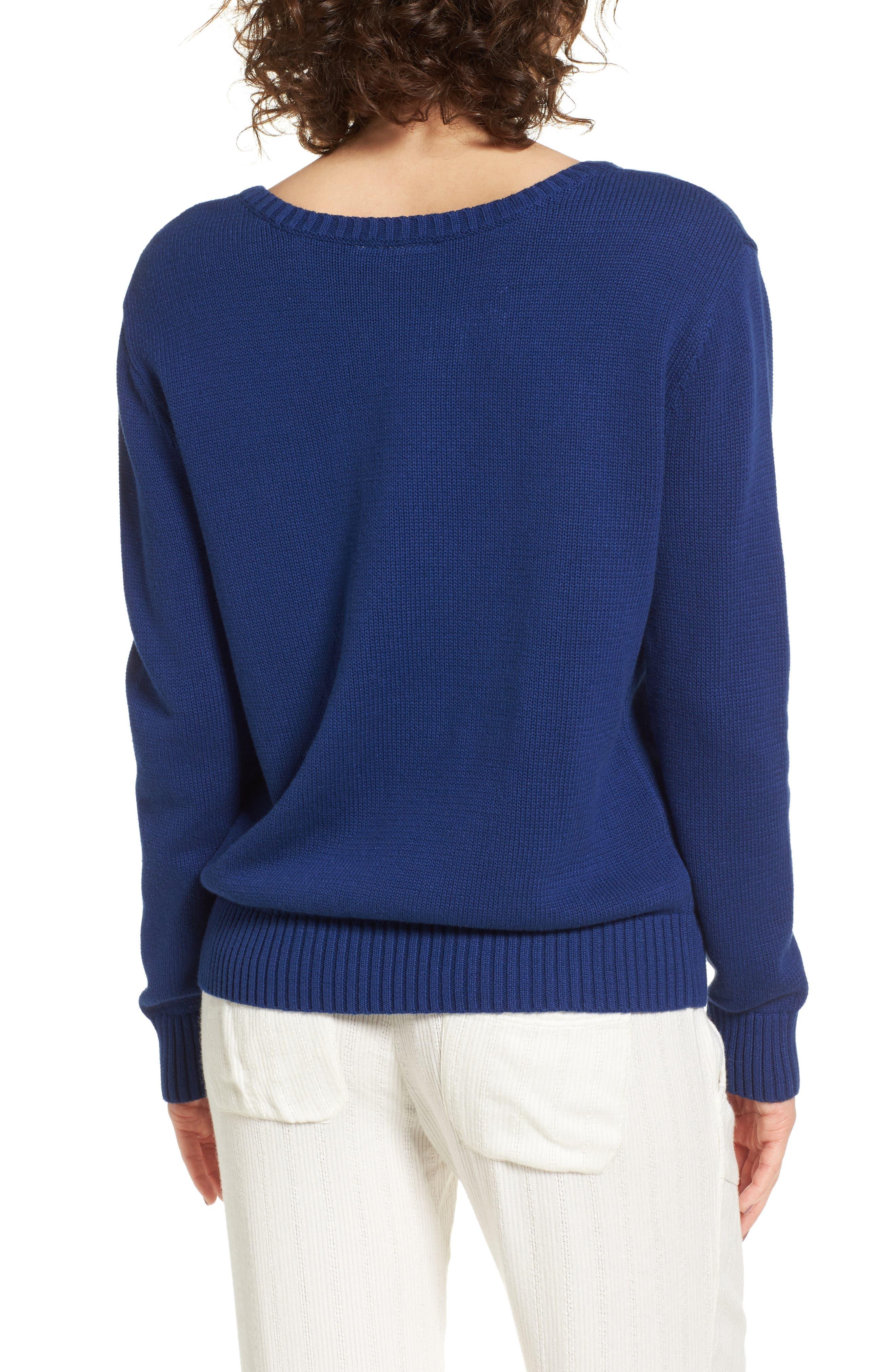 Alternate Image 2  - Roxy Higher Ground Graphic Sweater