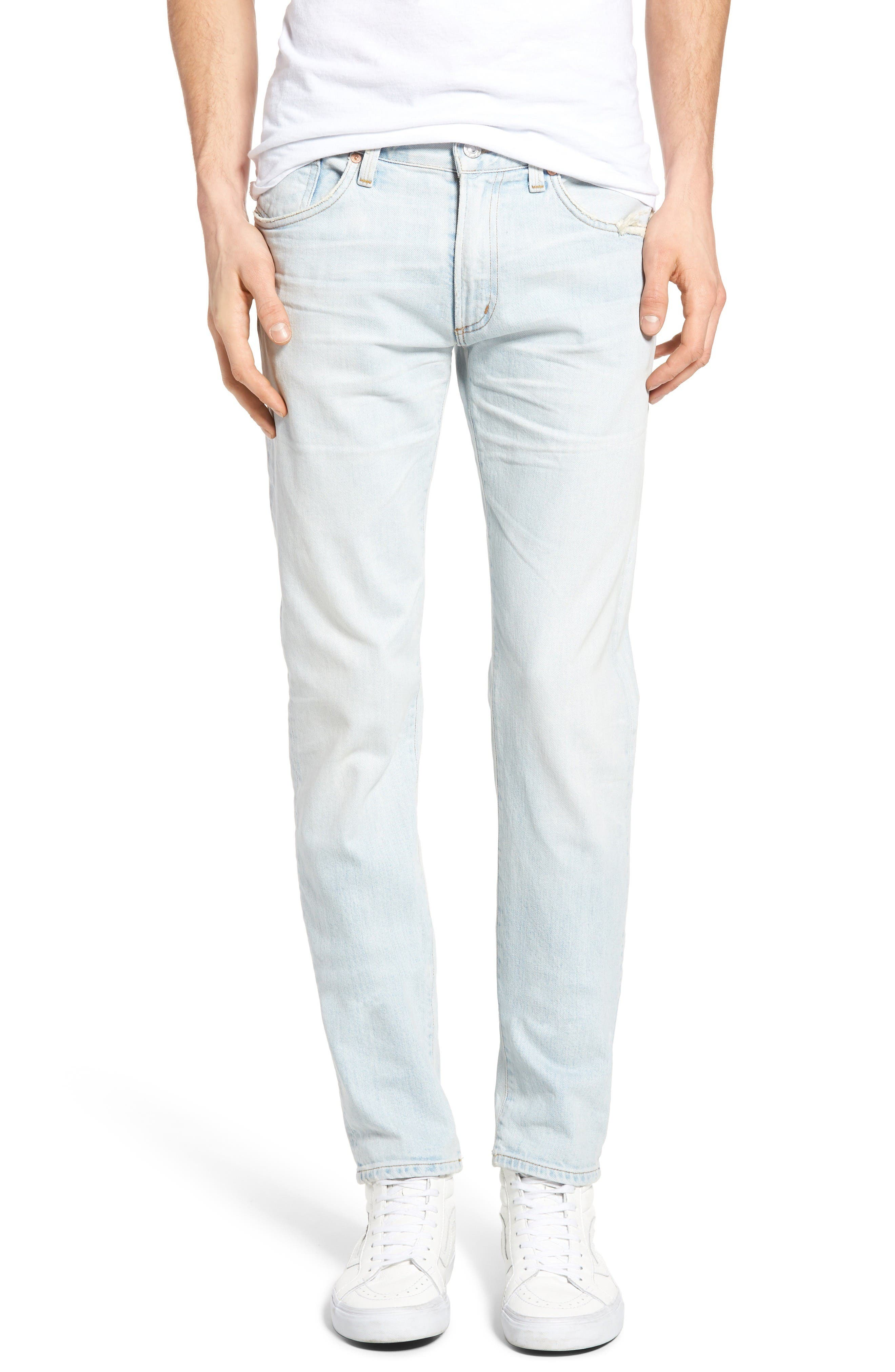Alternate Image 1 Selected - Citizens of Humanity Noah Skinny Fit Jeans (Mirage)