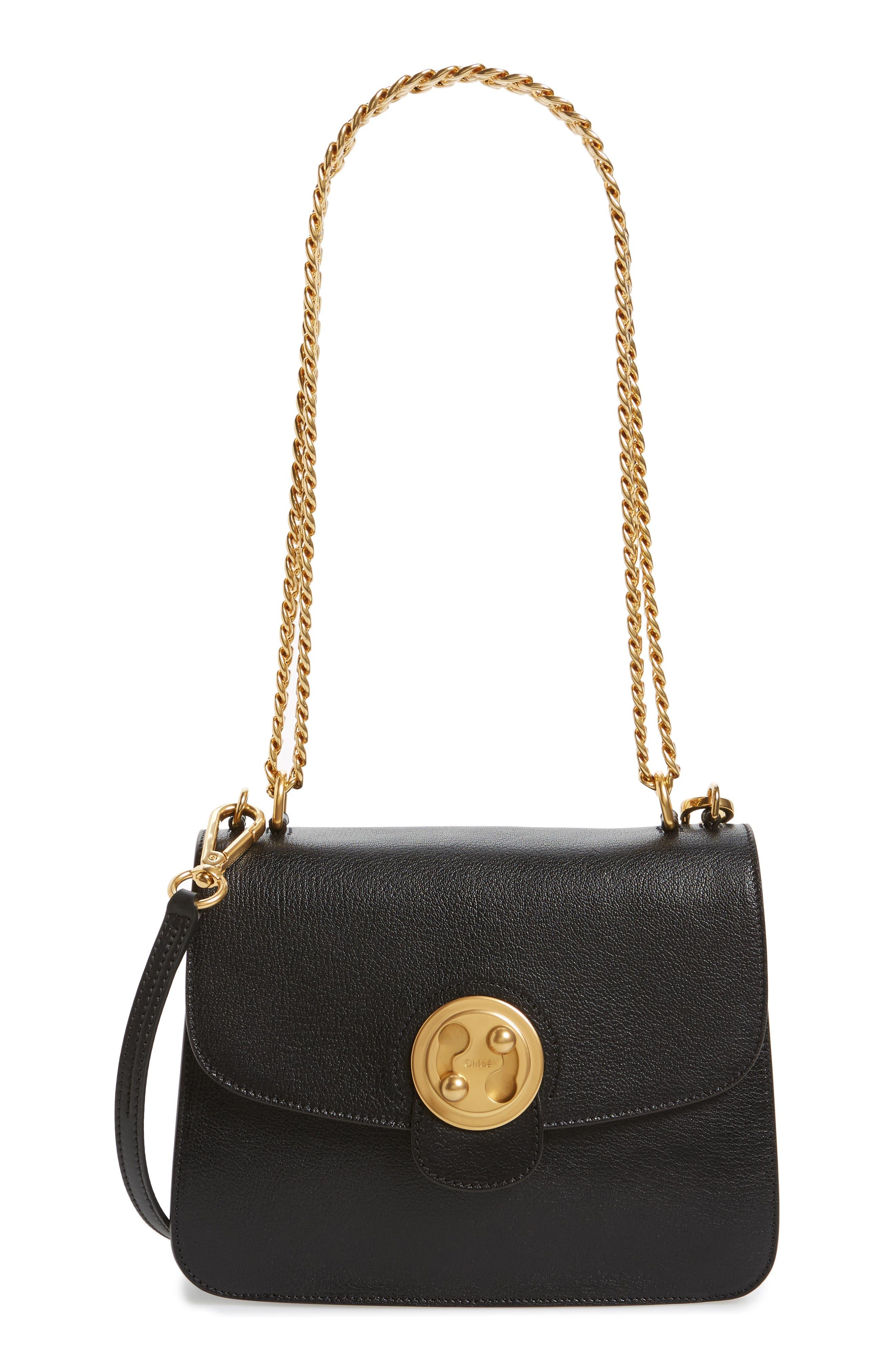 Alternate Image 1 Selected - Chloé Medium Mily Leather Shoulder Bag