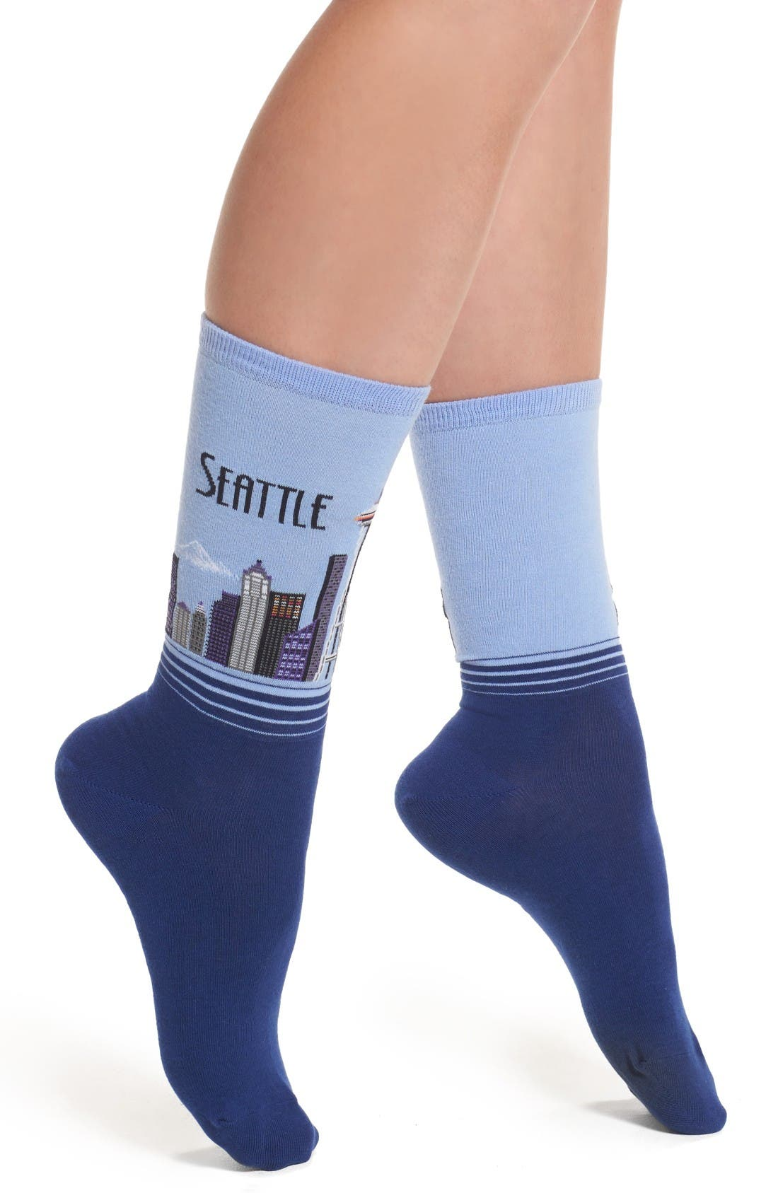 Hot Sox Seattle Socks (3 for $15)