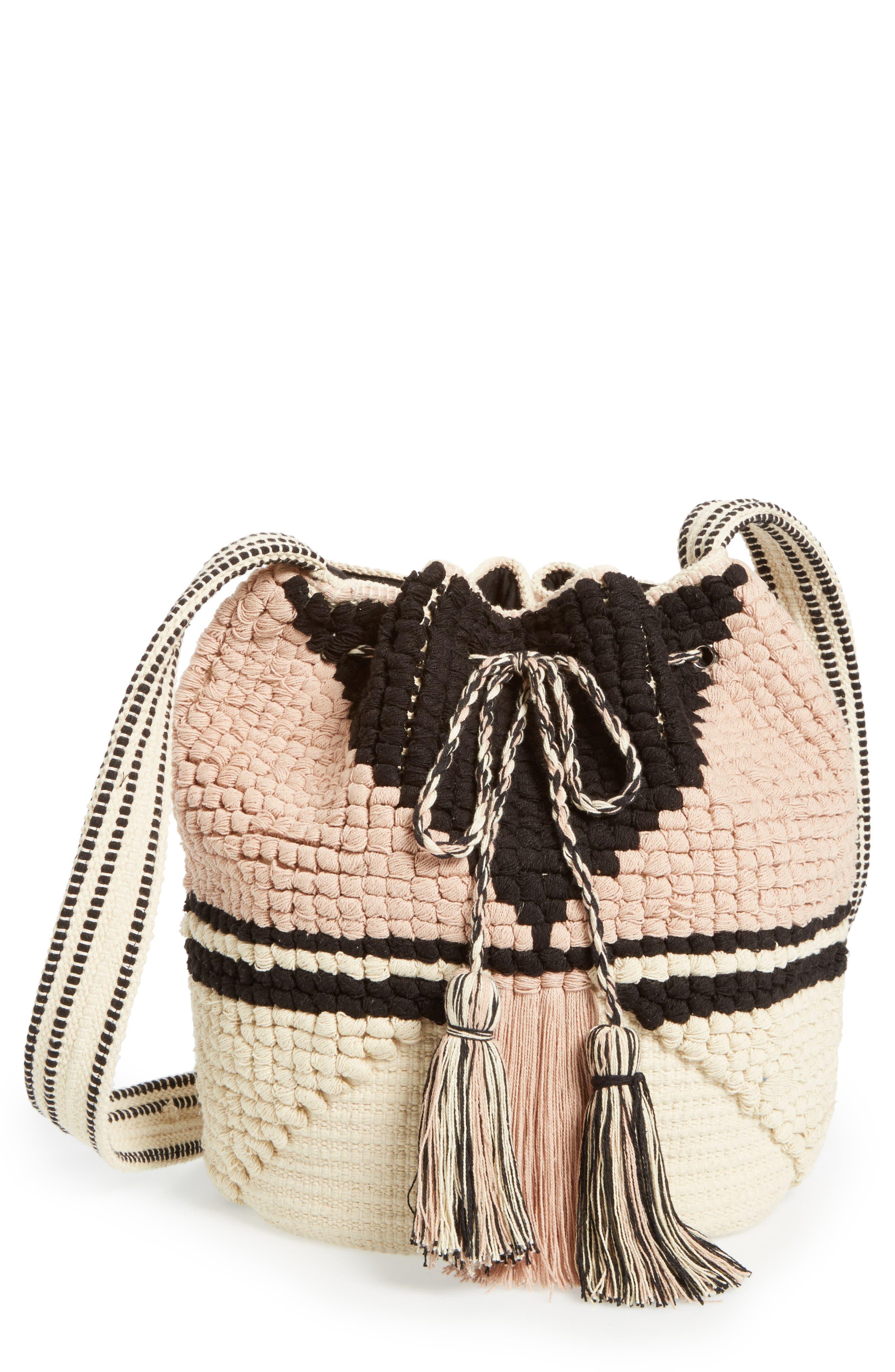 Alternate Image 1 Selected - Sole Society Kenya Bucket Bag
