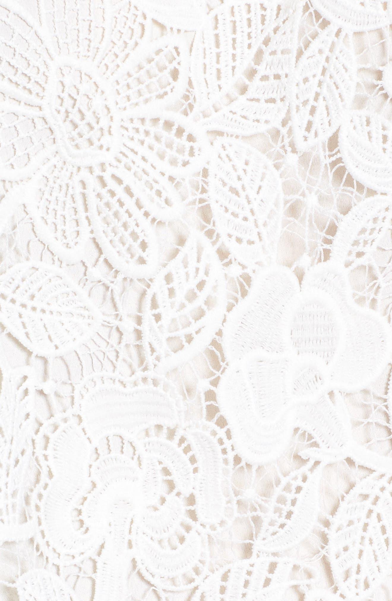 Alternate Image 5  - Astr Amalie Lace Top