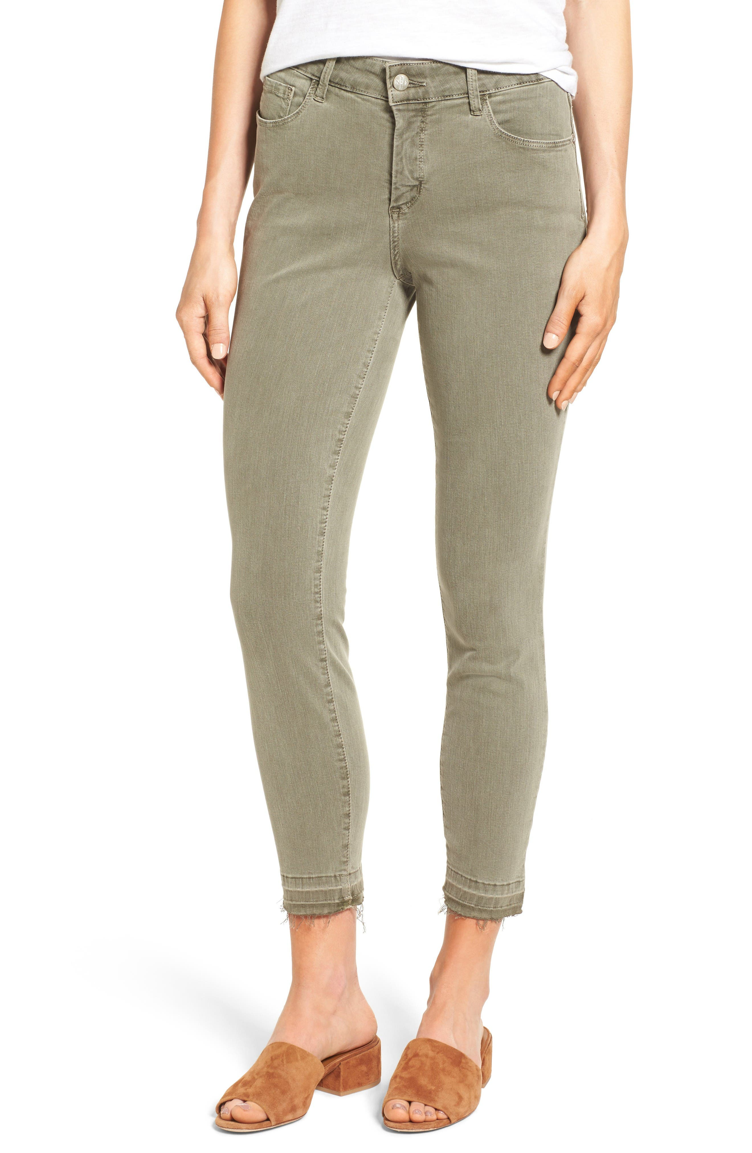 NYDJ Ami Release Hem Stretch Skinny Jeans (Regular & Petite ...