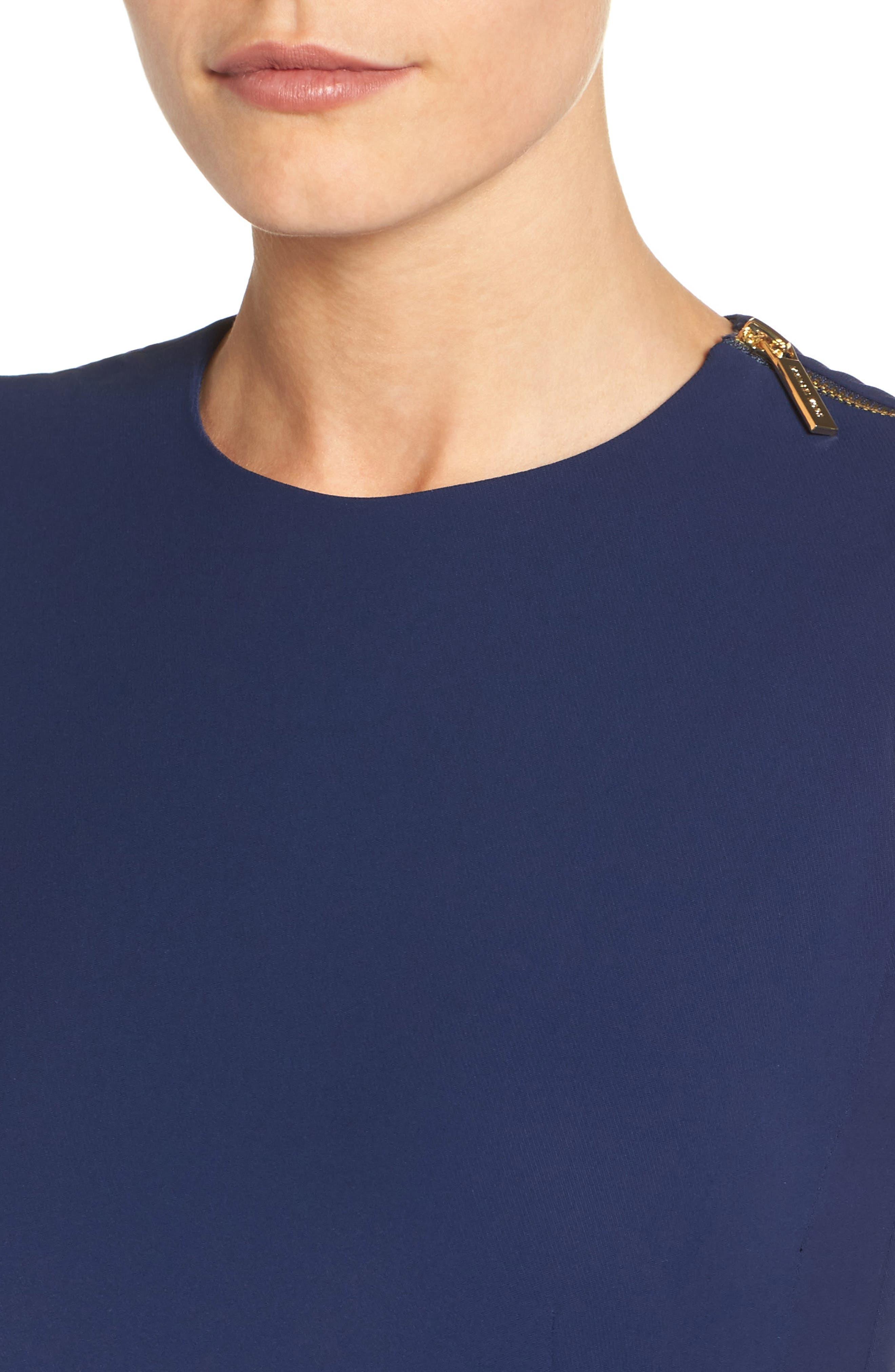 Alternate Image 4  - MICHAEL Michael Kors Belted Crop Jumpsuit