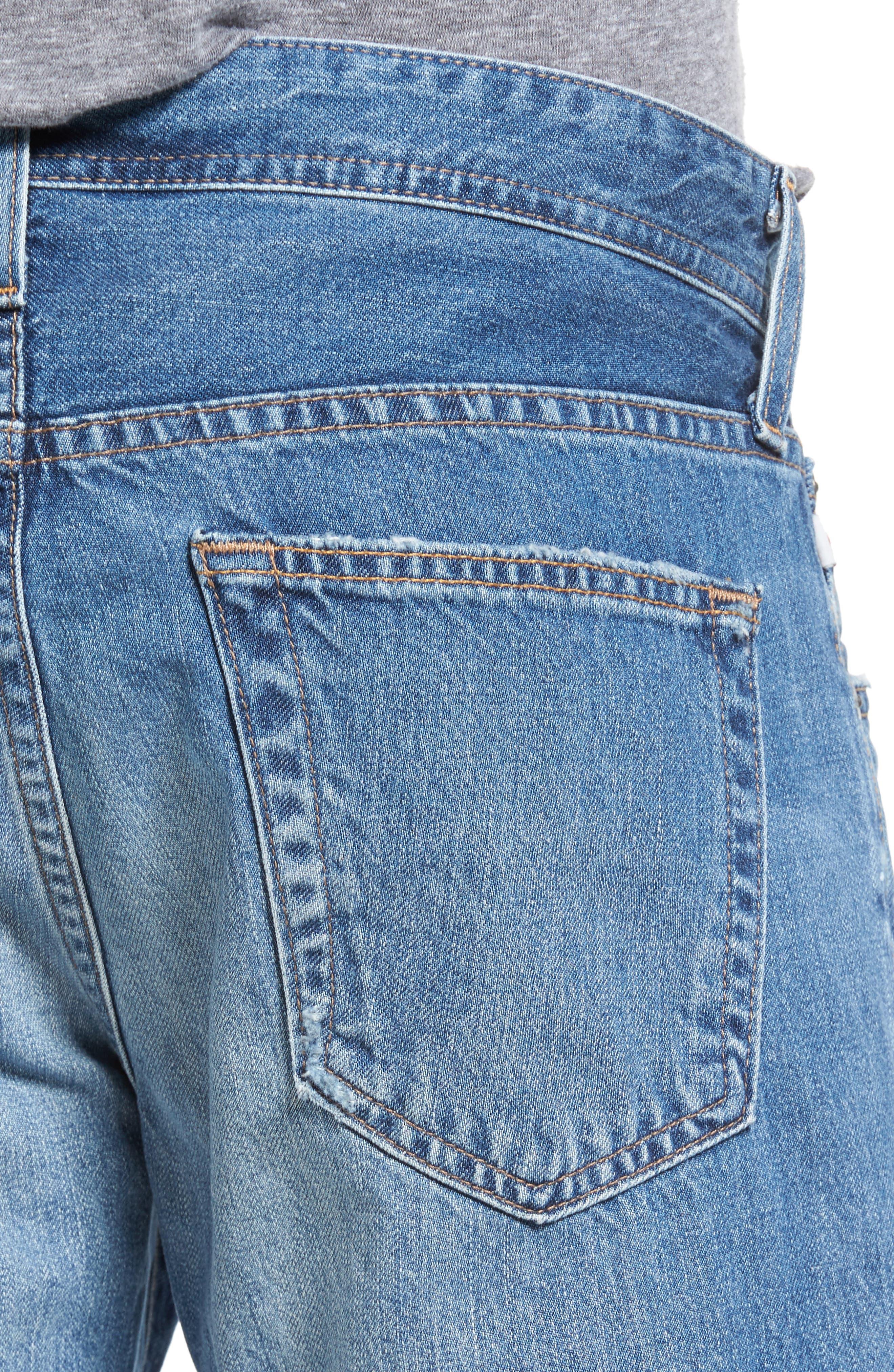 Alternate Image 4  - AG Tellis Slim Fit Jeans (22 Years Melville)