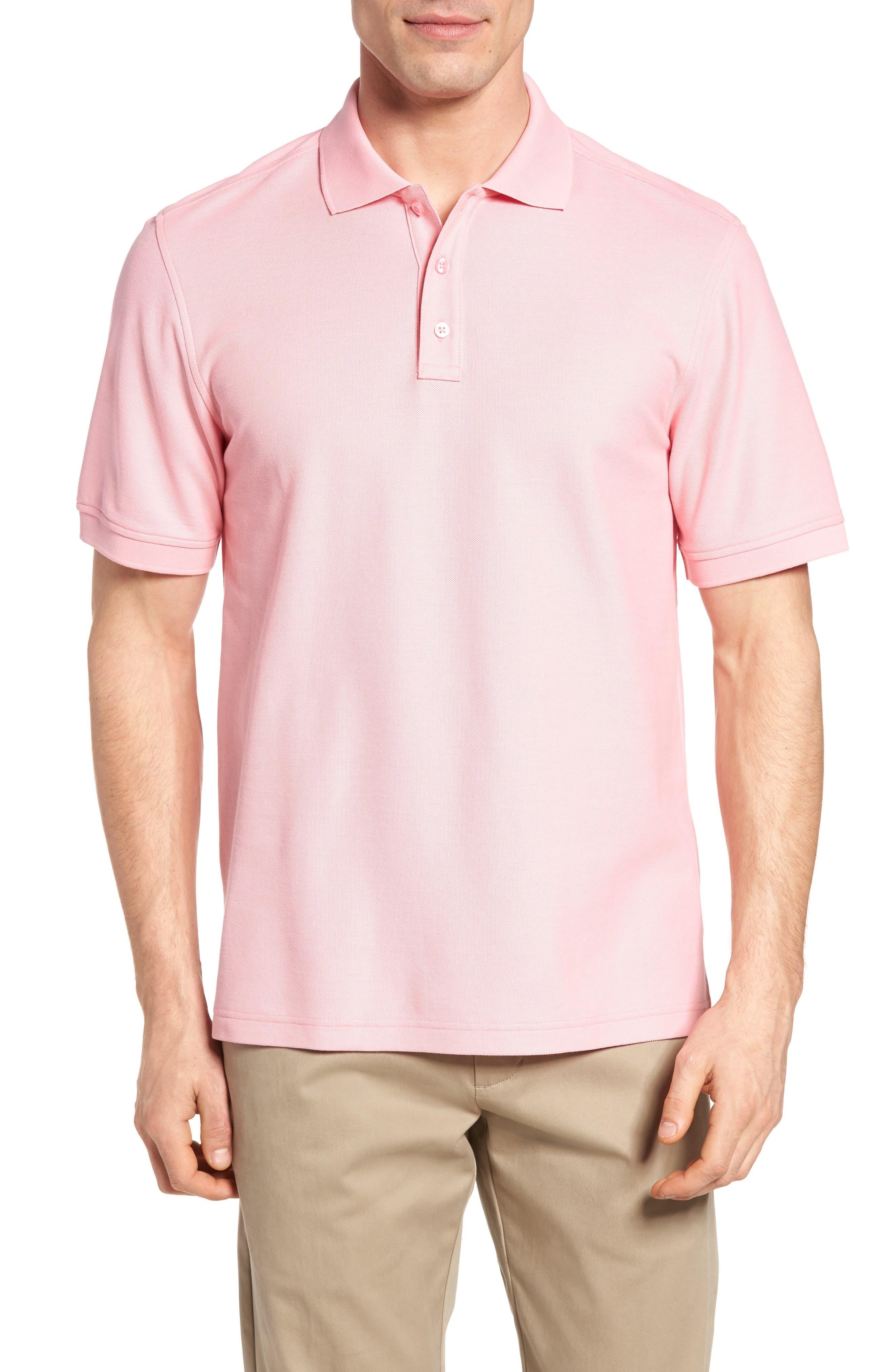 Nordstrom Men's Shop Solid Piqué Polo (Tall)