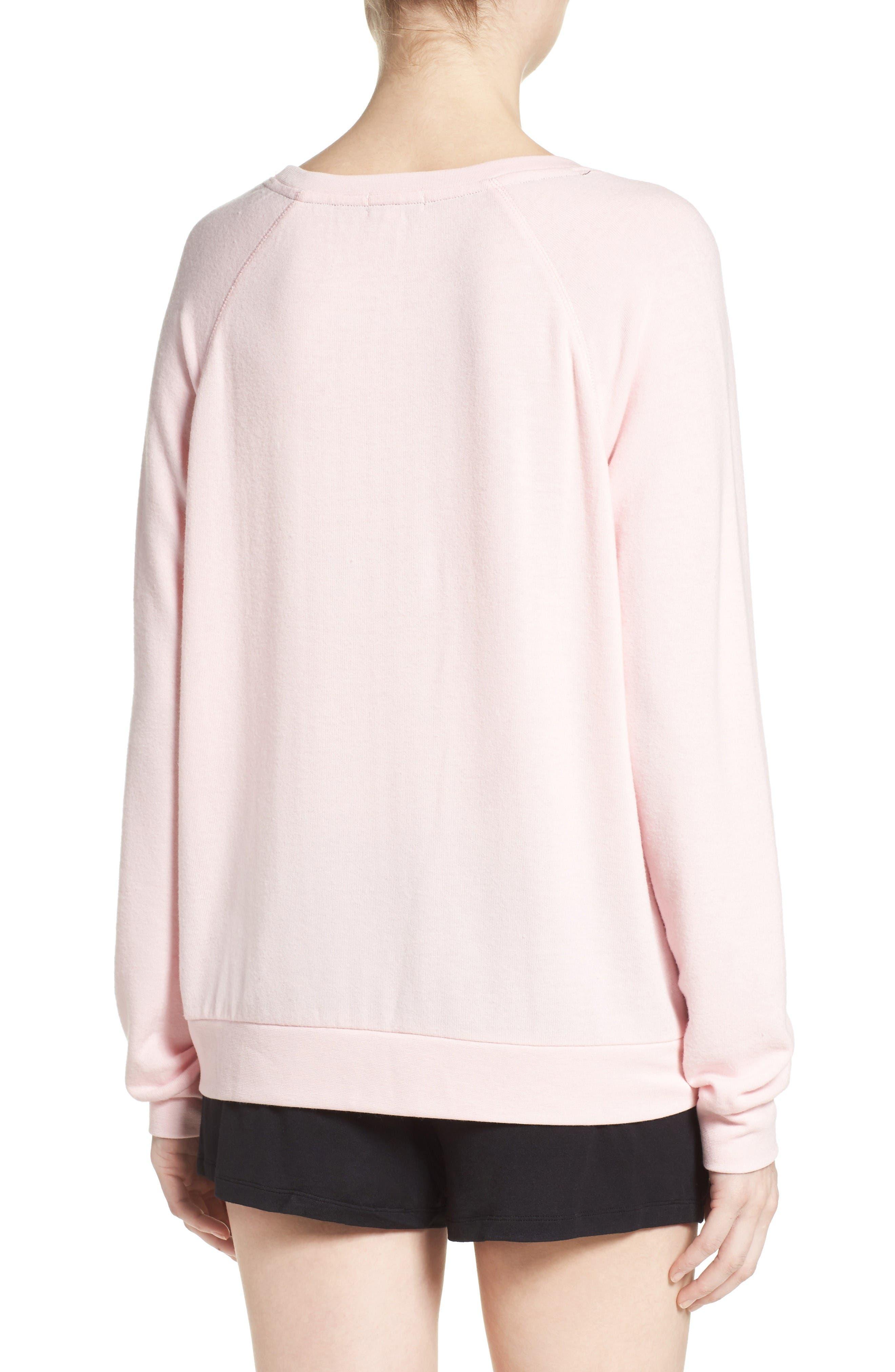 Alternate Image 2  - PJ Salvage Rosé All Day Sweatshirt