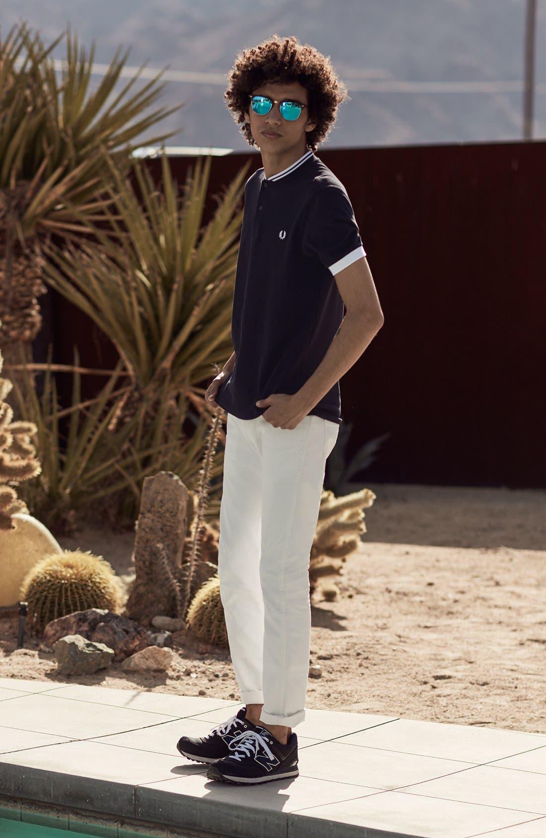 Alternate Image 10  - Levi's® 510® Skinny Fit Jeans (White Bull Denim)