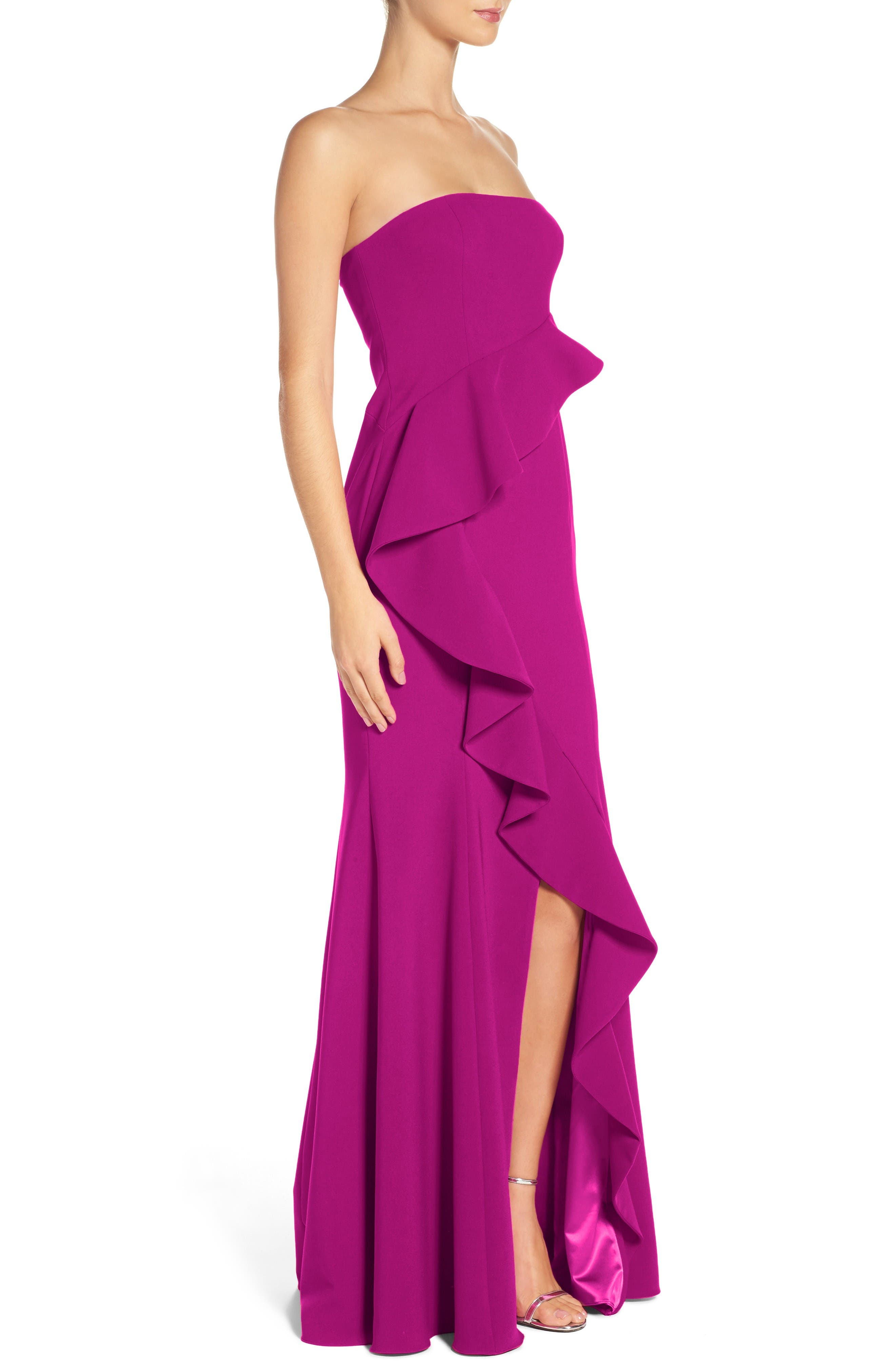 Alternate Image 3  - Jay Godfrey Torres Strapless Gown
