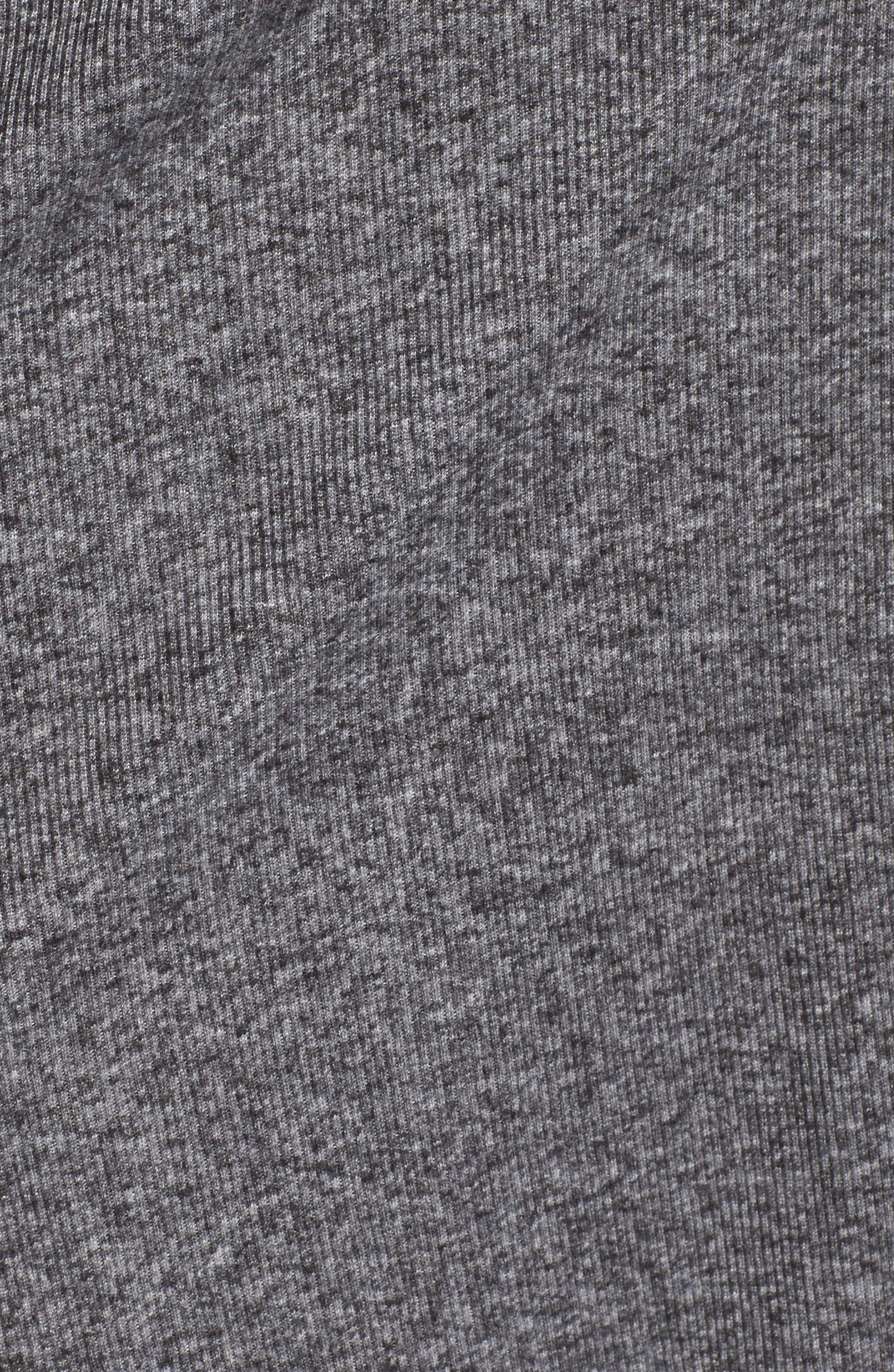 Alternate Image 5  - MICHAEL Michael Kors Marled Open Cardigan (Plus Size)