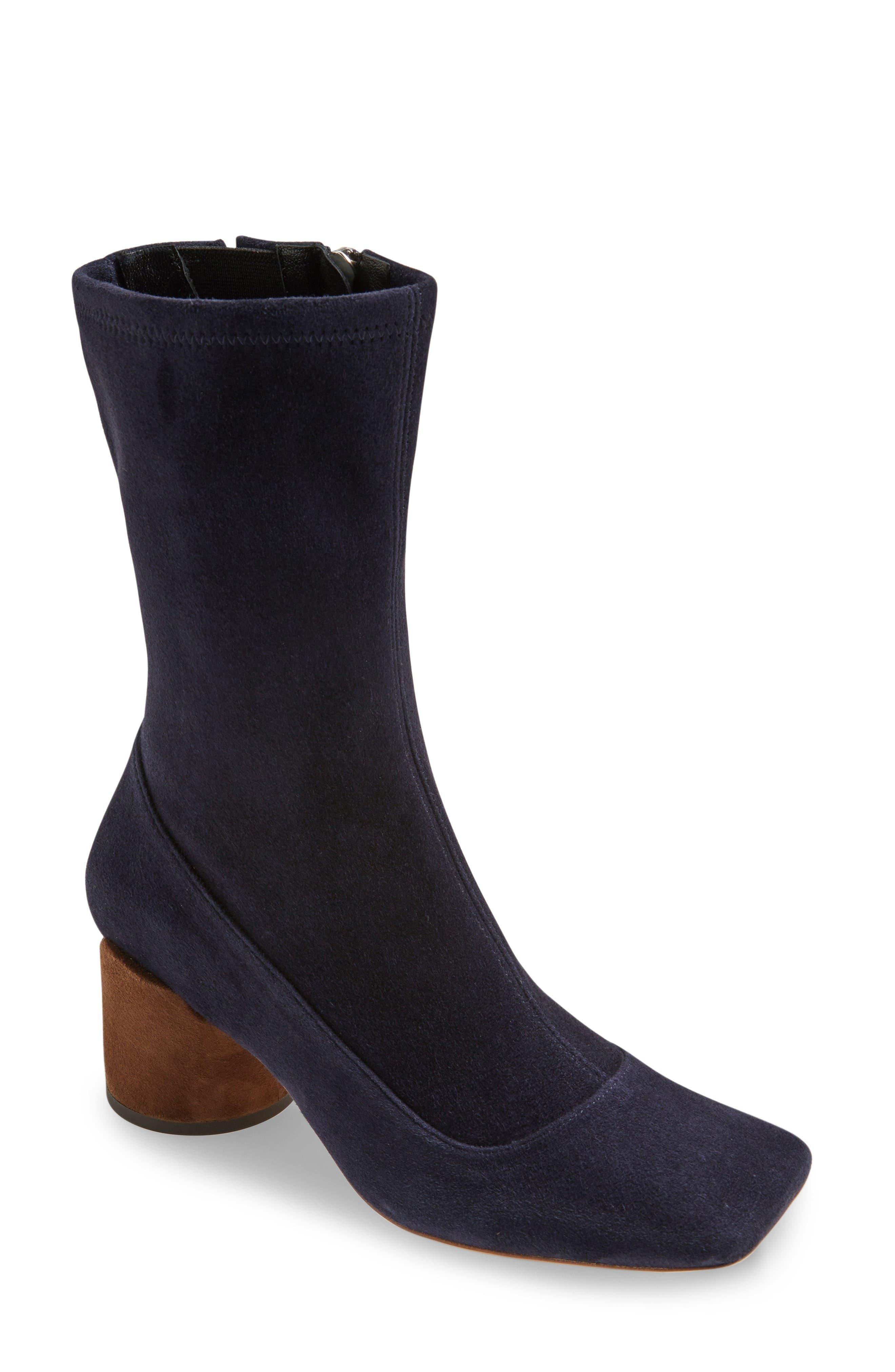 Jacquemus Square Toe Boot (Women)