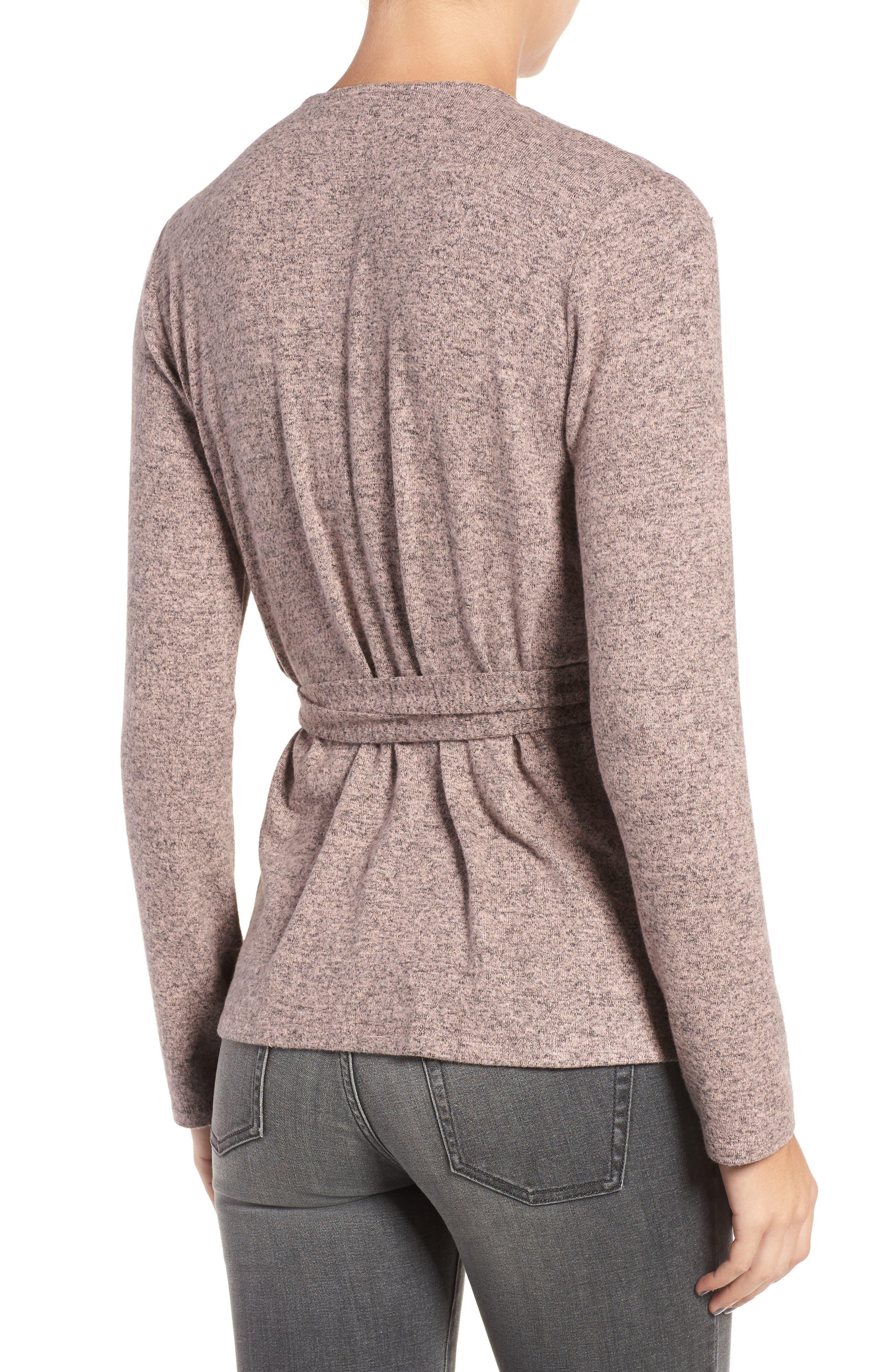 Alternate Image 2  - Trouvé Wrap Sweater