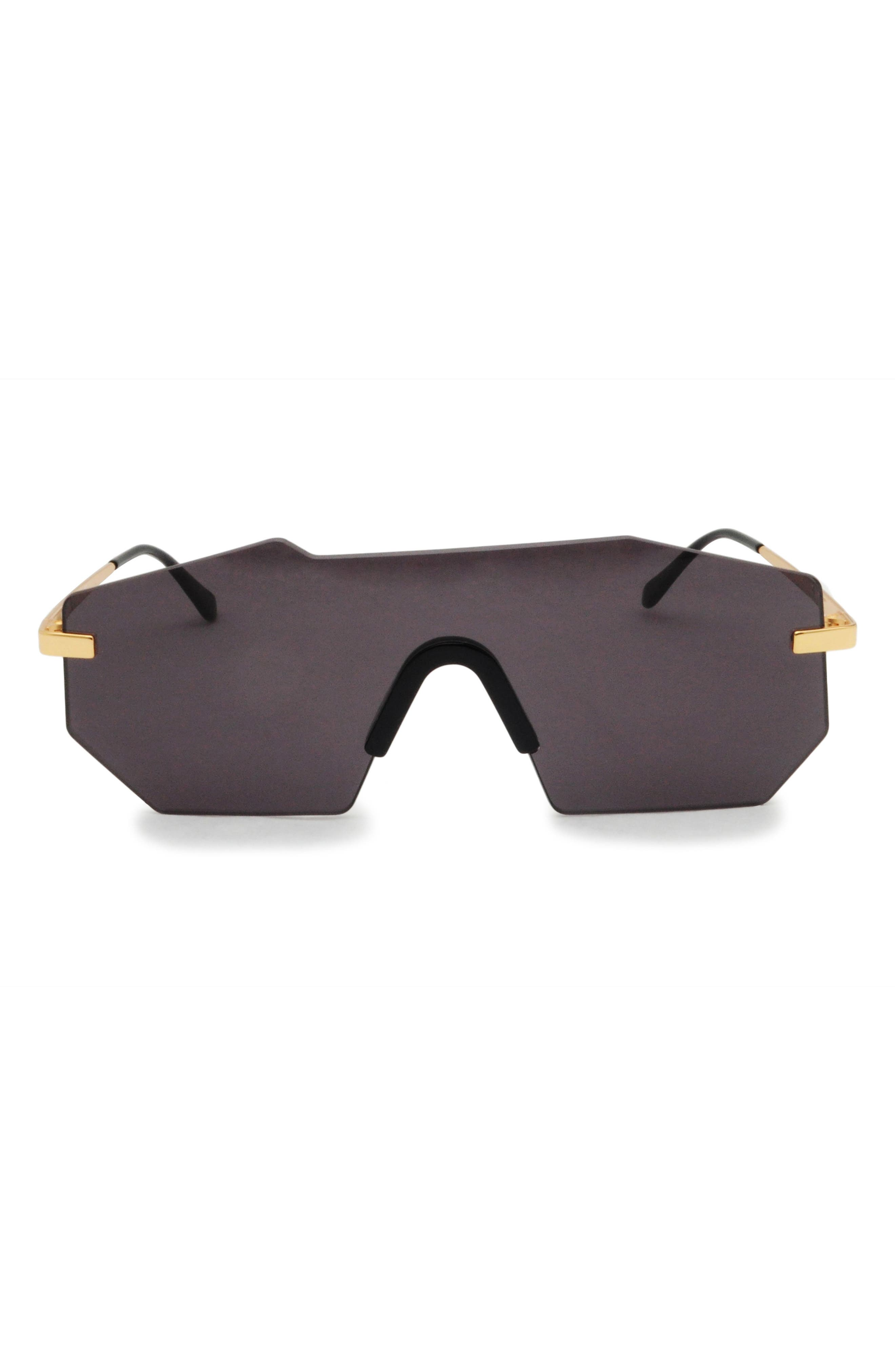 GLASSING GP1 132mm Shield Sunglasses