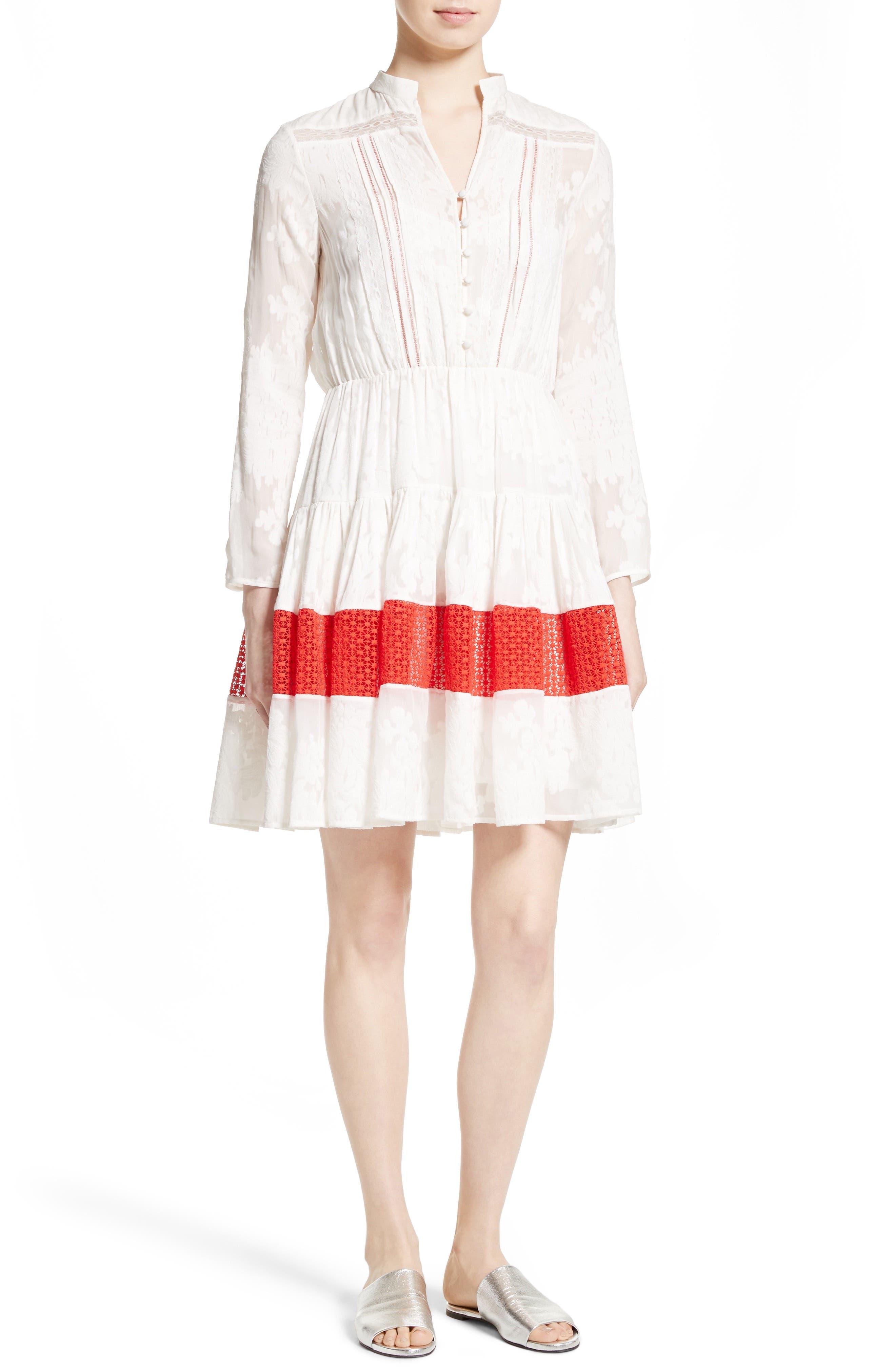 SALONI Alyssa Fit & Flare Dress