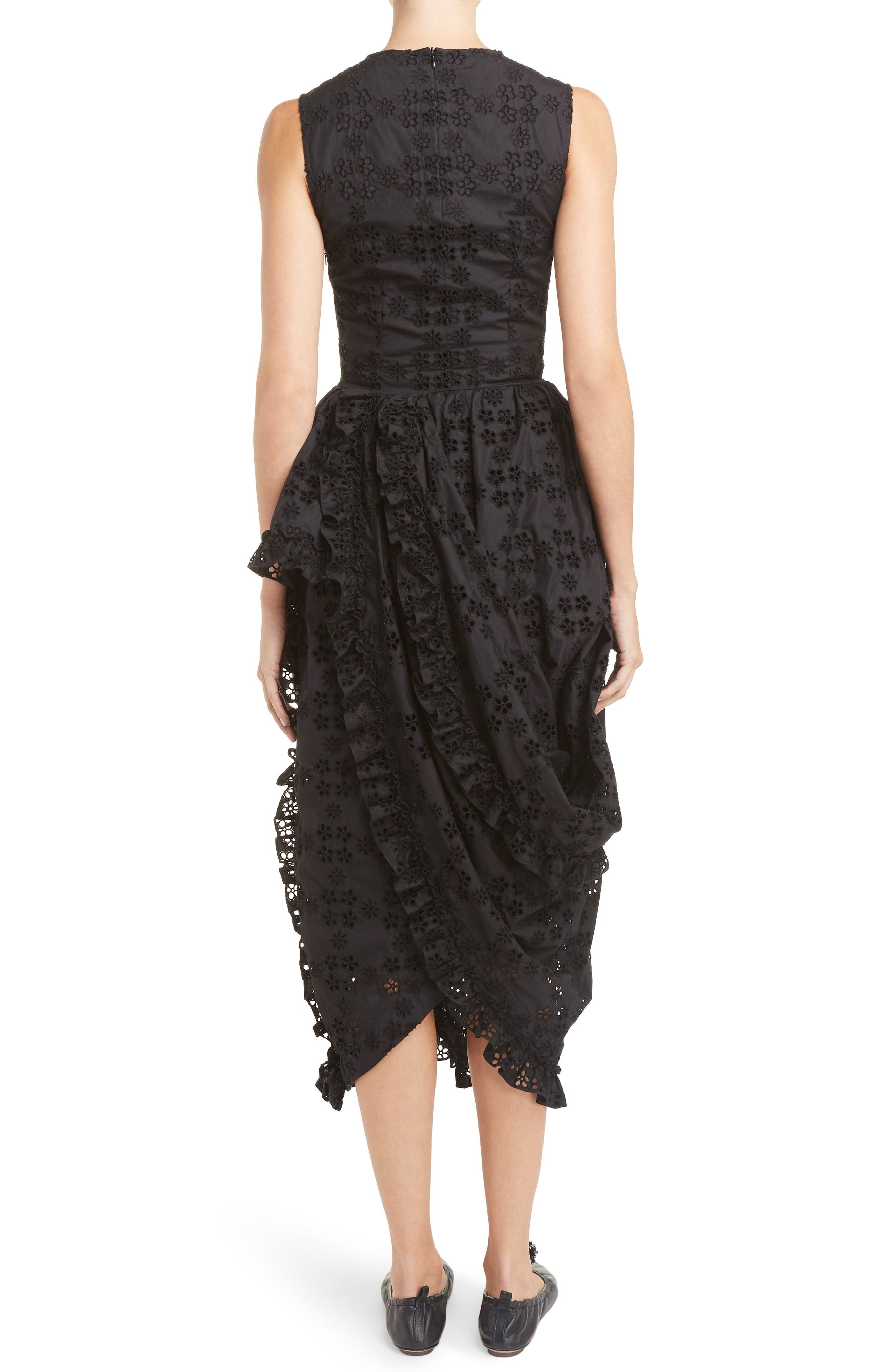 Alternate Image 2  - Simone Rocha Eyelet Frill Dress