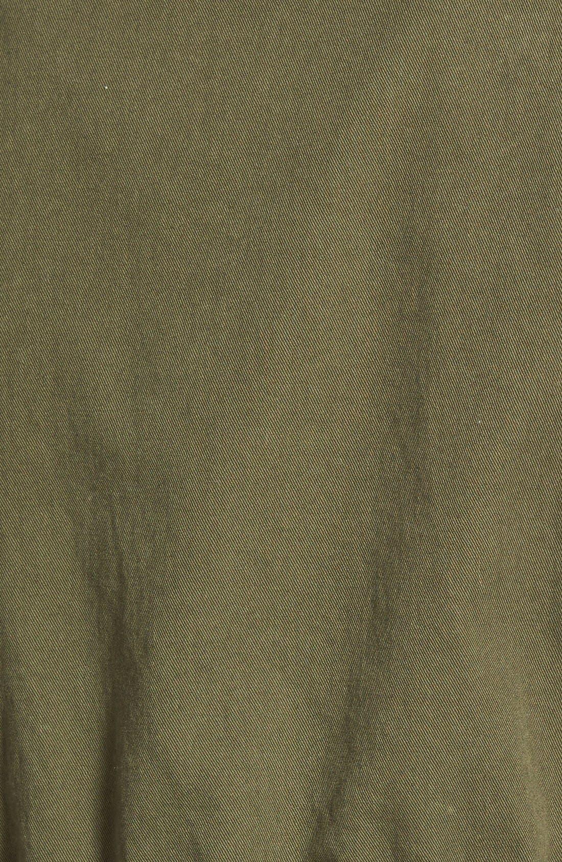 Alternate Image 3  - Velvet Heritage Military Canvas Jacket
