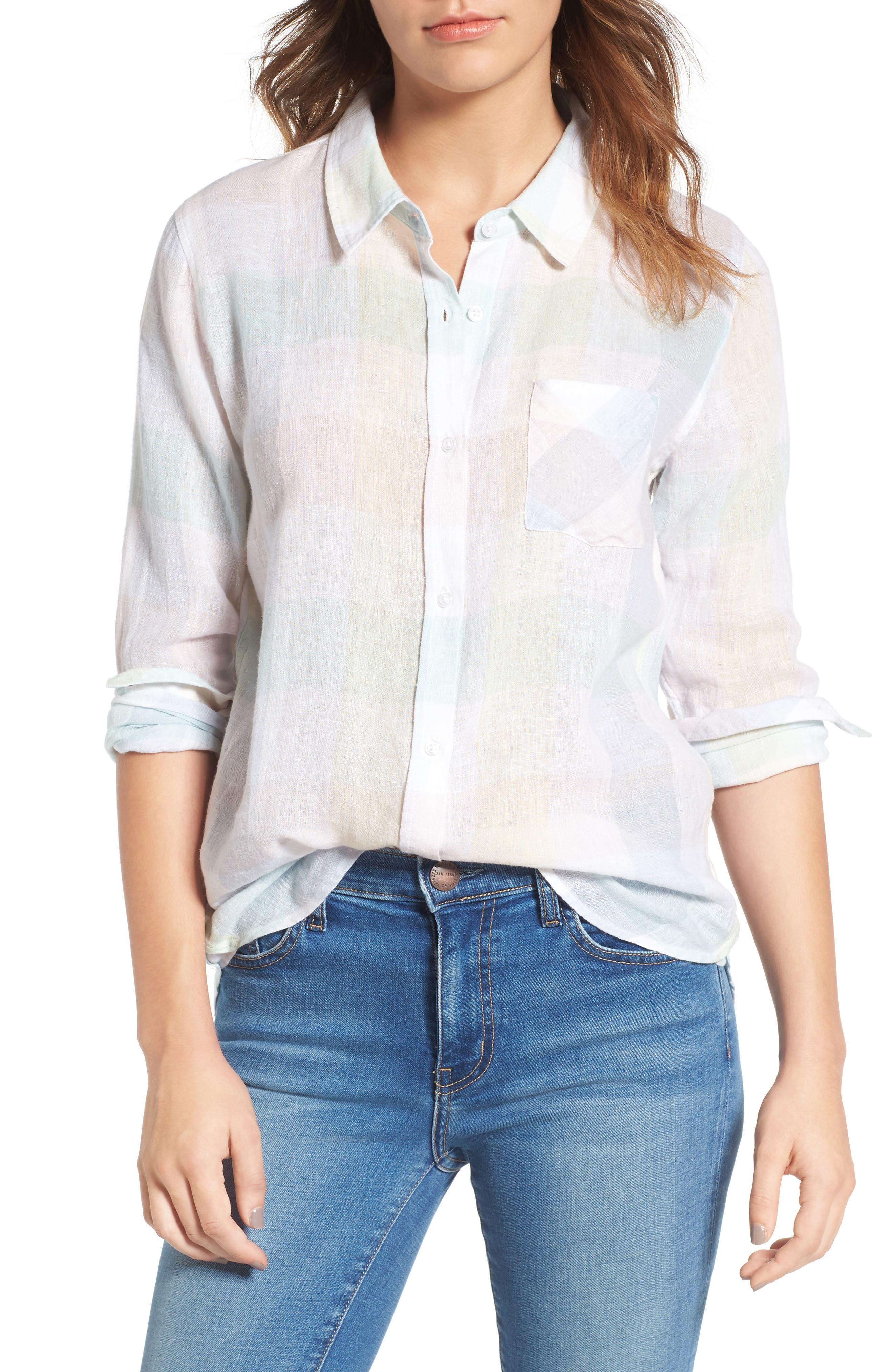 Rails Charli Linen Blend Shirt
