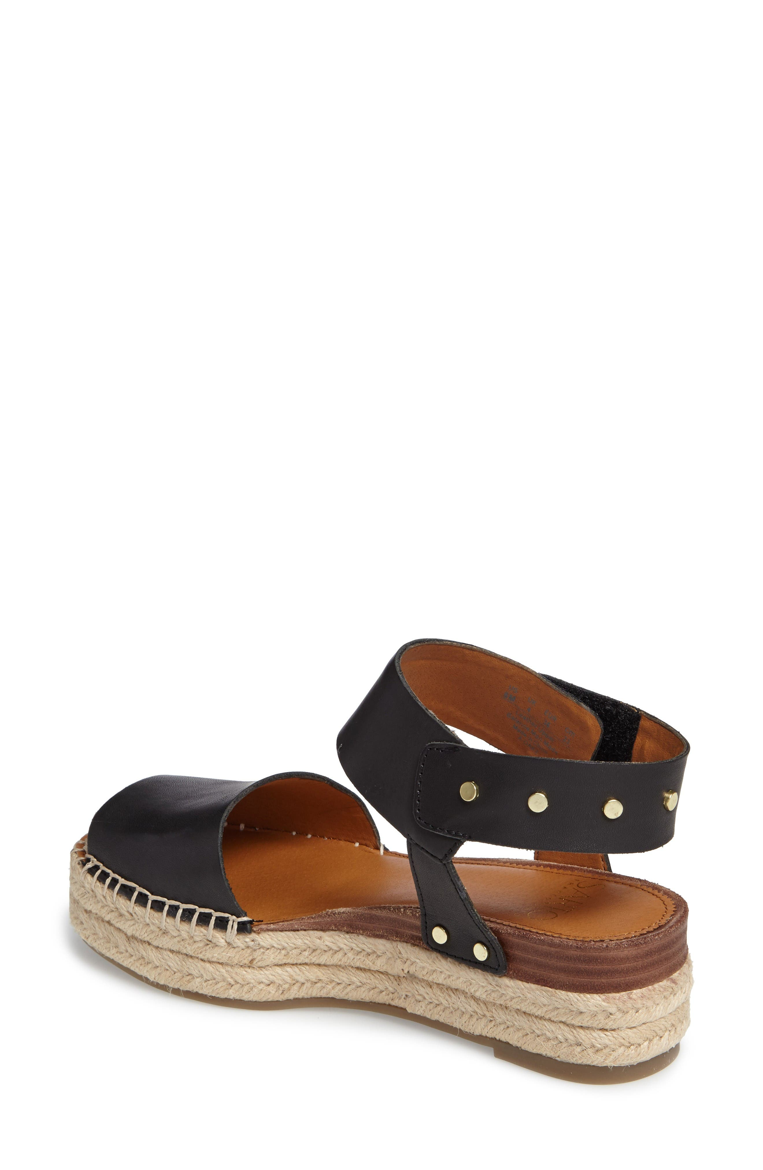 Alternate Image 2  - SARTO by Franco Sarto Oak Platform Wedge Espadrille (Women)