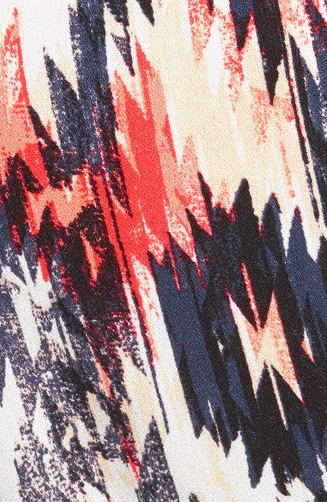 Alternate Image 3  - Ella Moss 'Zia' Print Pants