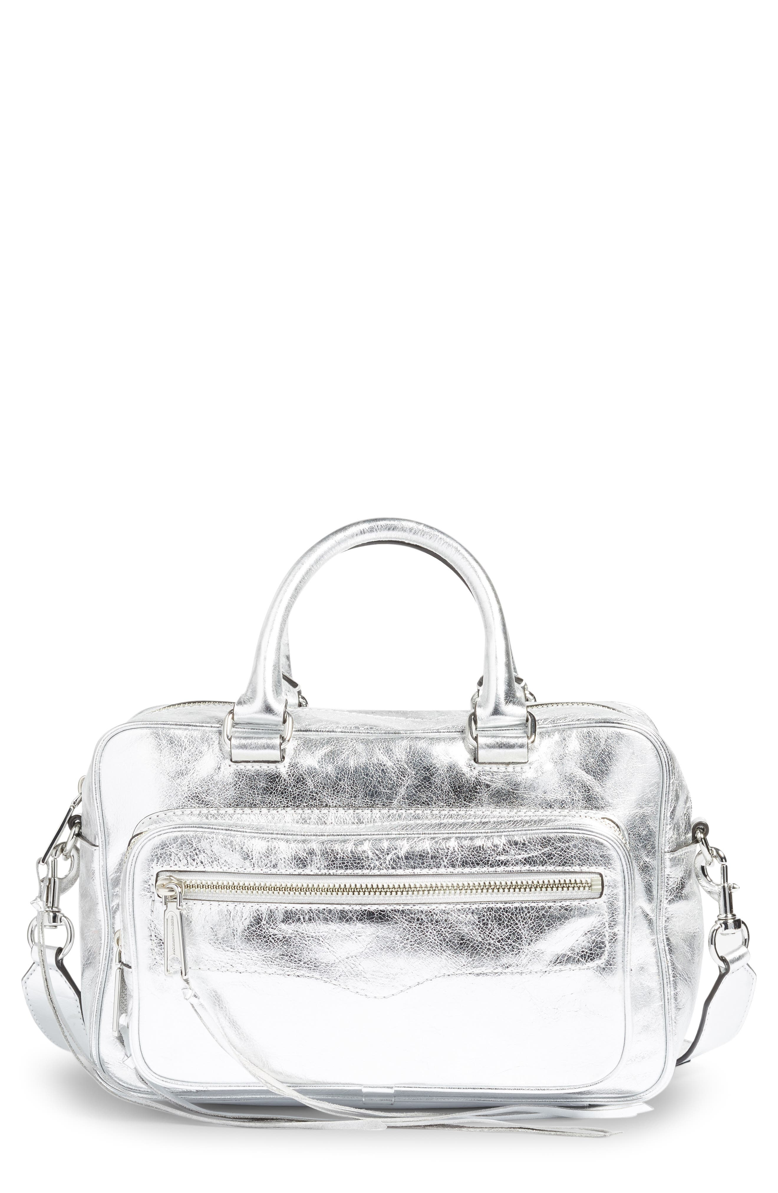 Rebecca Minkoff Solstice Leather Crossbody Duffel Bag