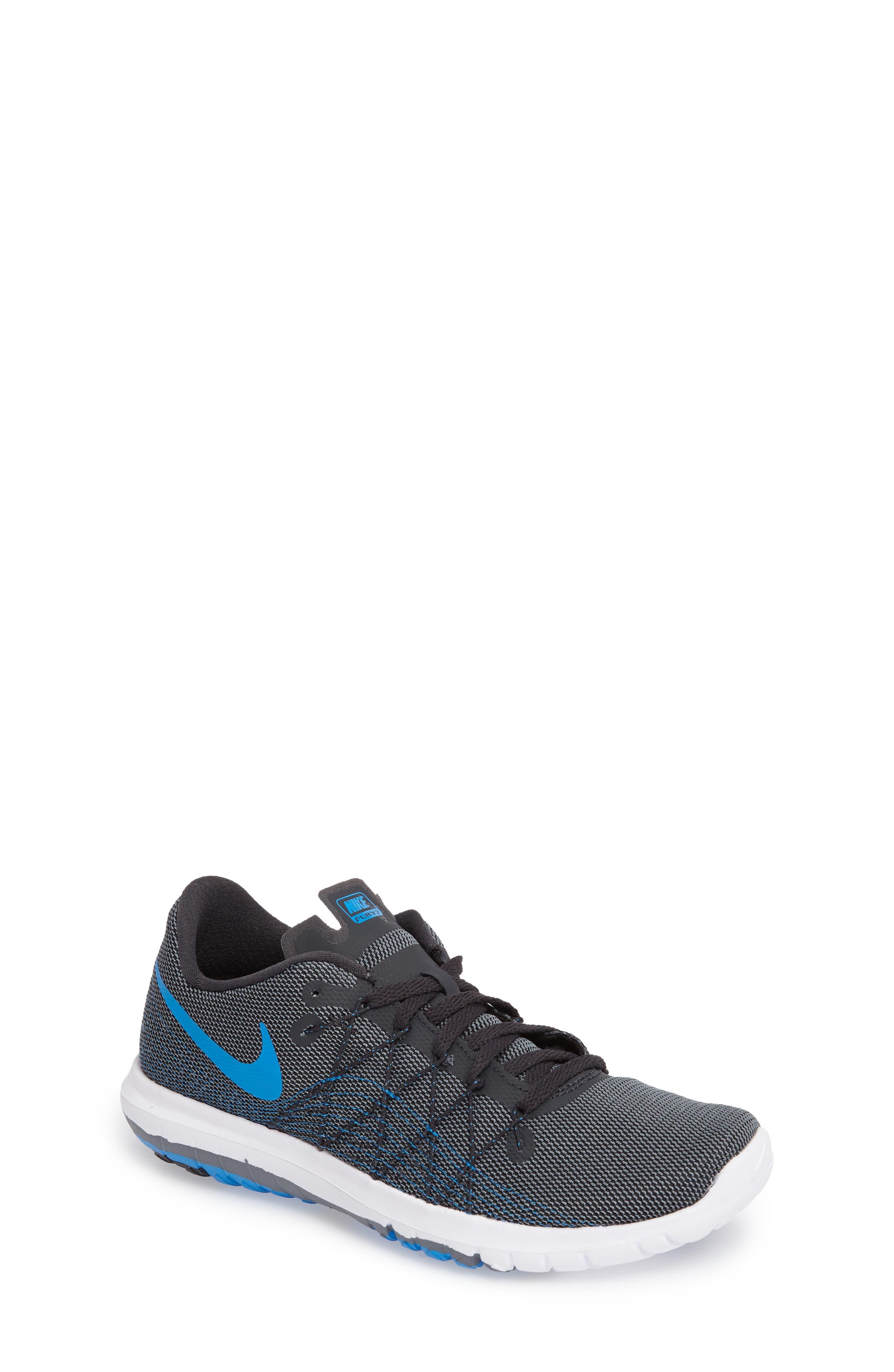 Nike 'Flex Fury 2' Athletic Shoe (Big Kid)
